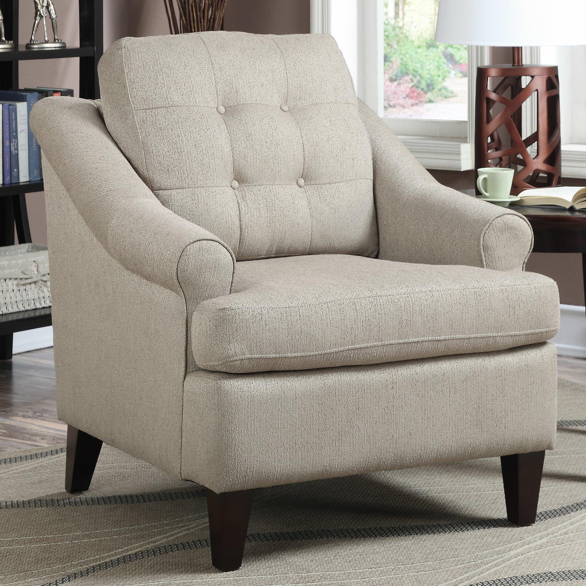Ac Pacific Erin Arm Chair Reviews Wayfair
