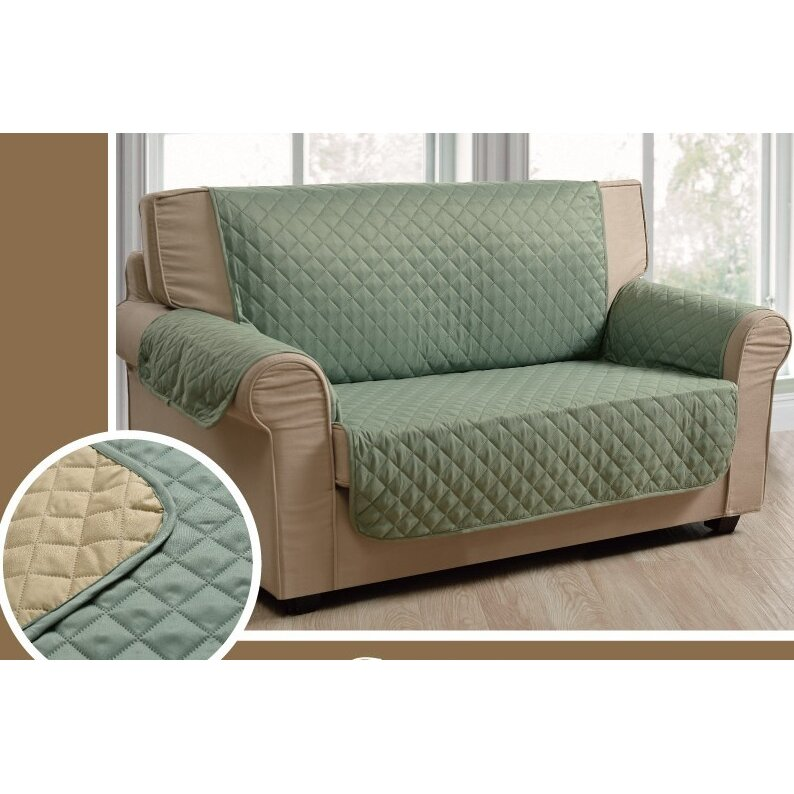 lacozee reversible sofa slipcover reviews. Black Bedroom Furniture Sets. Home Design Ideas