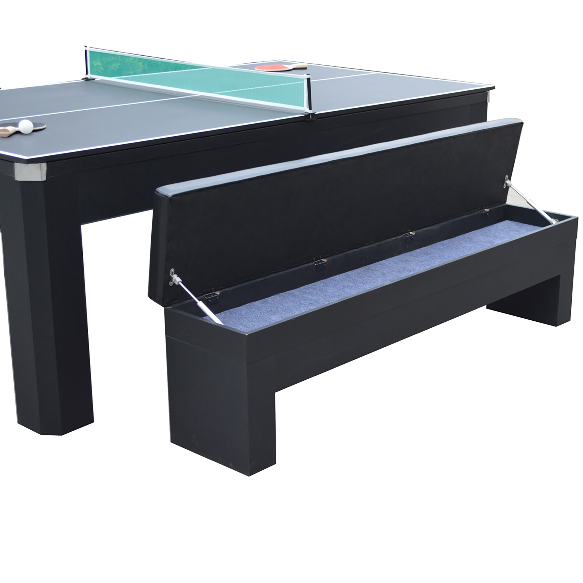 Hathaway games park avenue 10 piece 7 39 pool table combo for 10 pool table