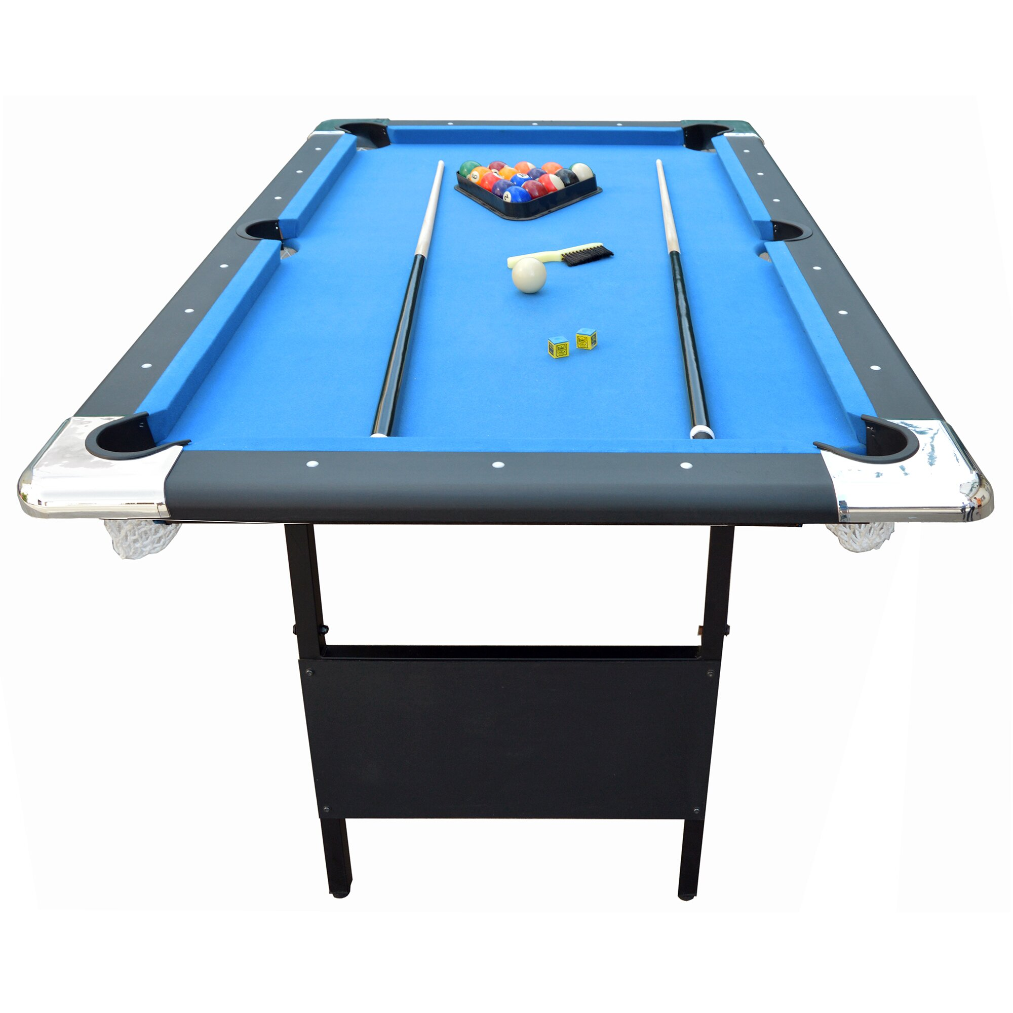 Hathaway games fairmont 6 39 portable pool table reviews for Table exterieur 3m