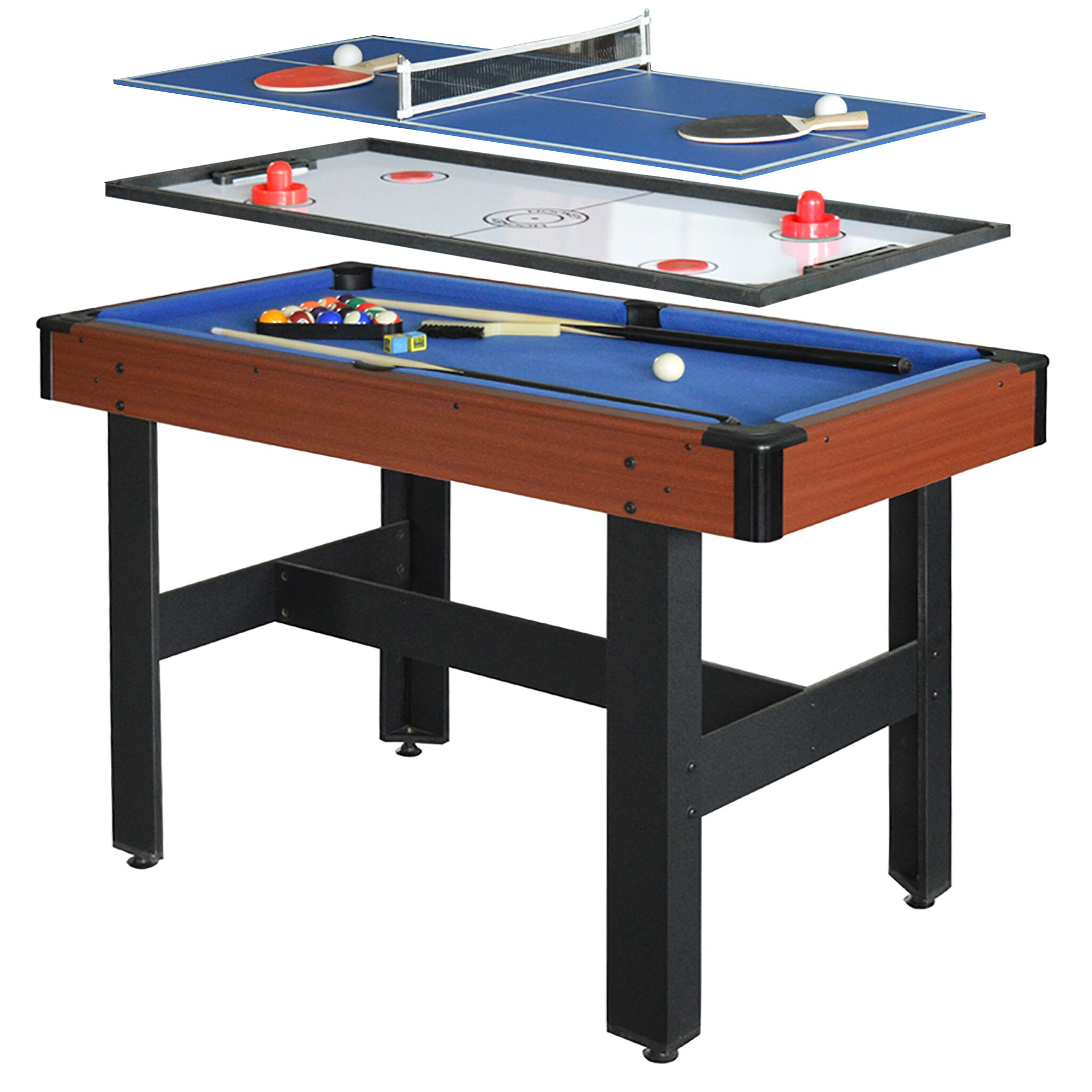 Hathaway games triad 3 in 1 multi game table reviews for 10 games in 1 table
