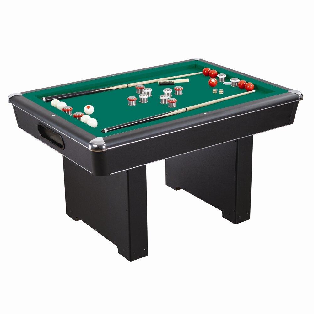 Hathaway games renegade slate 5 39 bumper pool table - Slate pool table ...