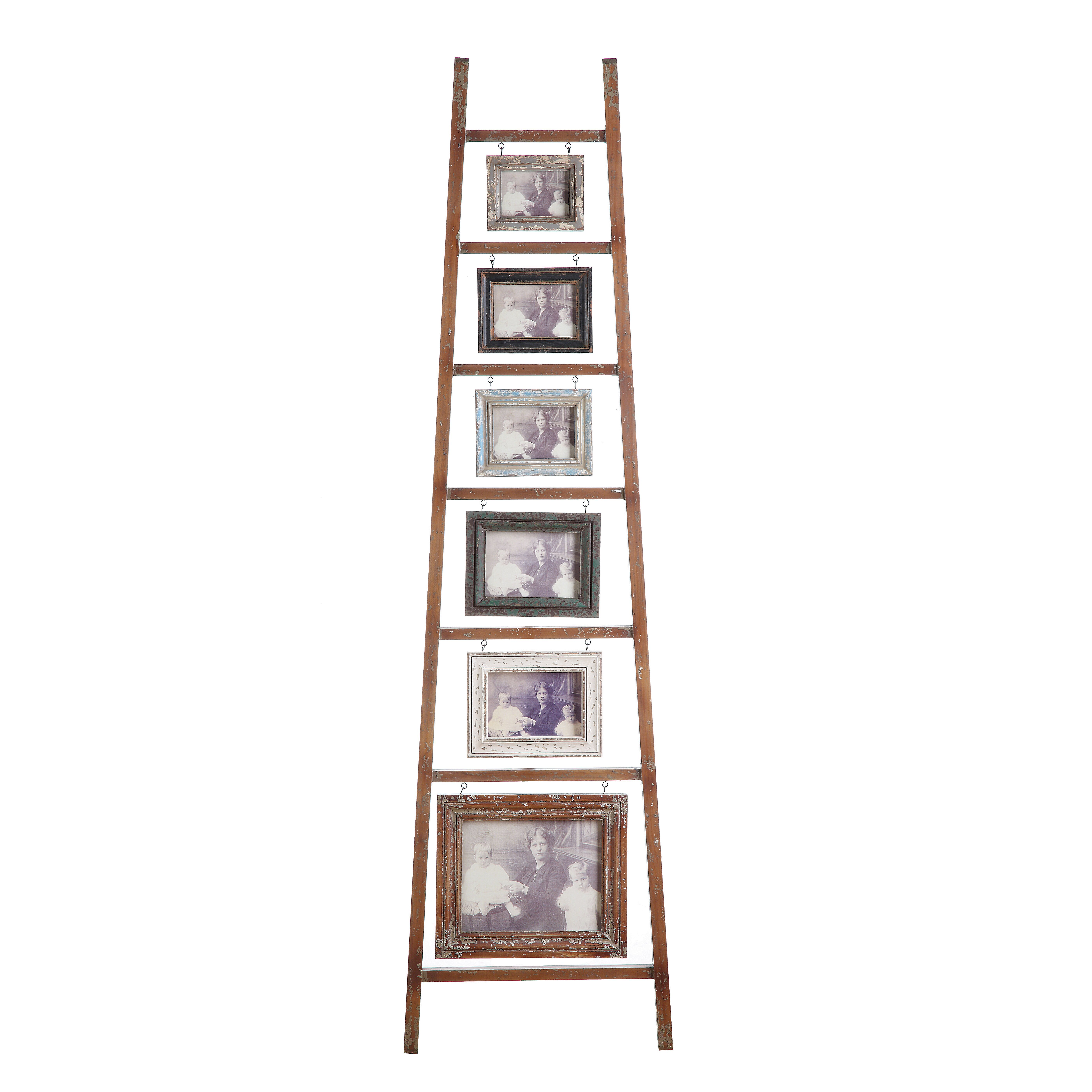 Creative Co Op Haven Wood And Mdf 6 Photo Ladder Amp Reviews