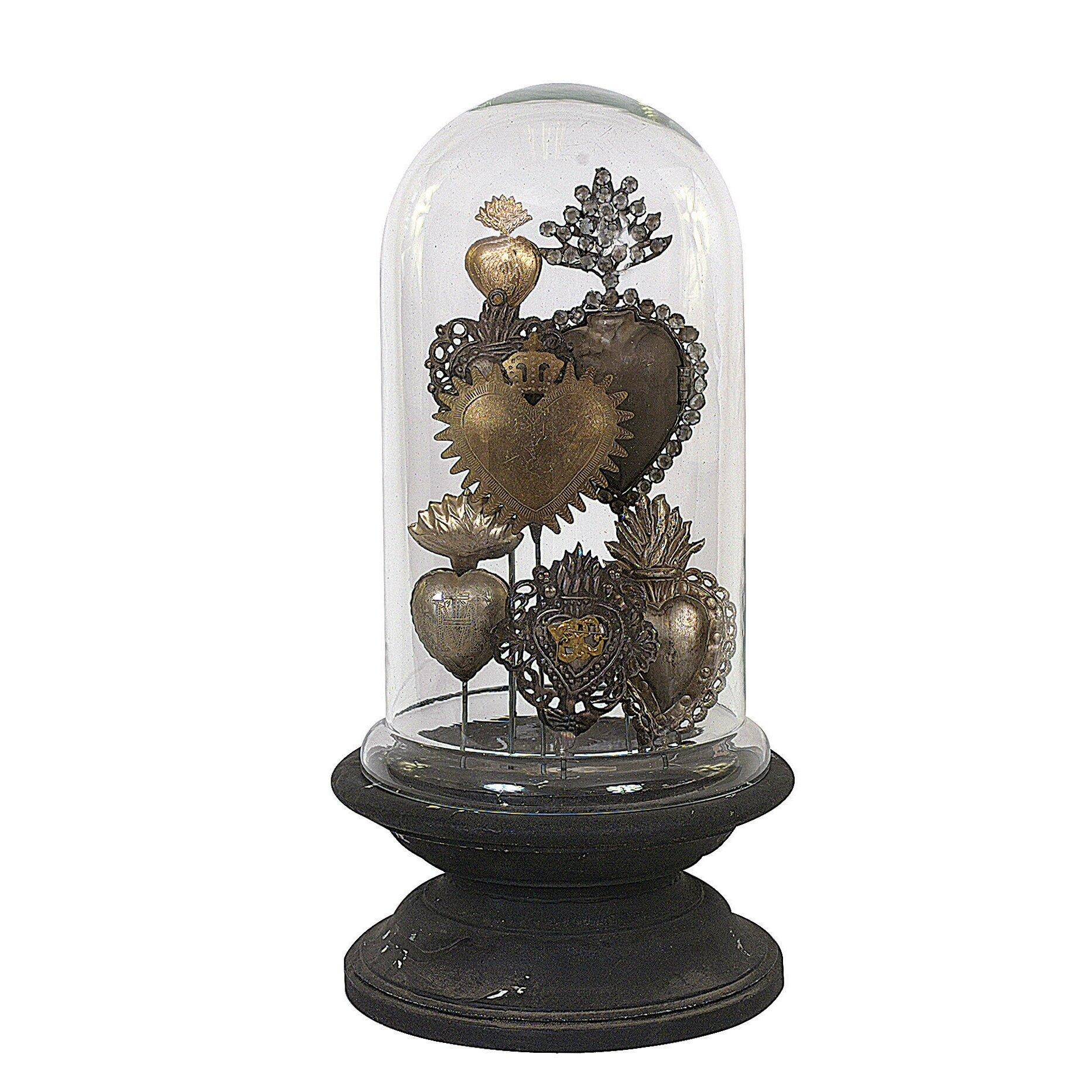 Creative Co-Op Chateau Decorative Tin Sacred Hearts on ...