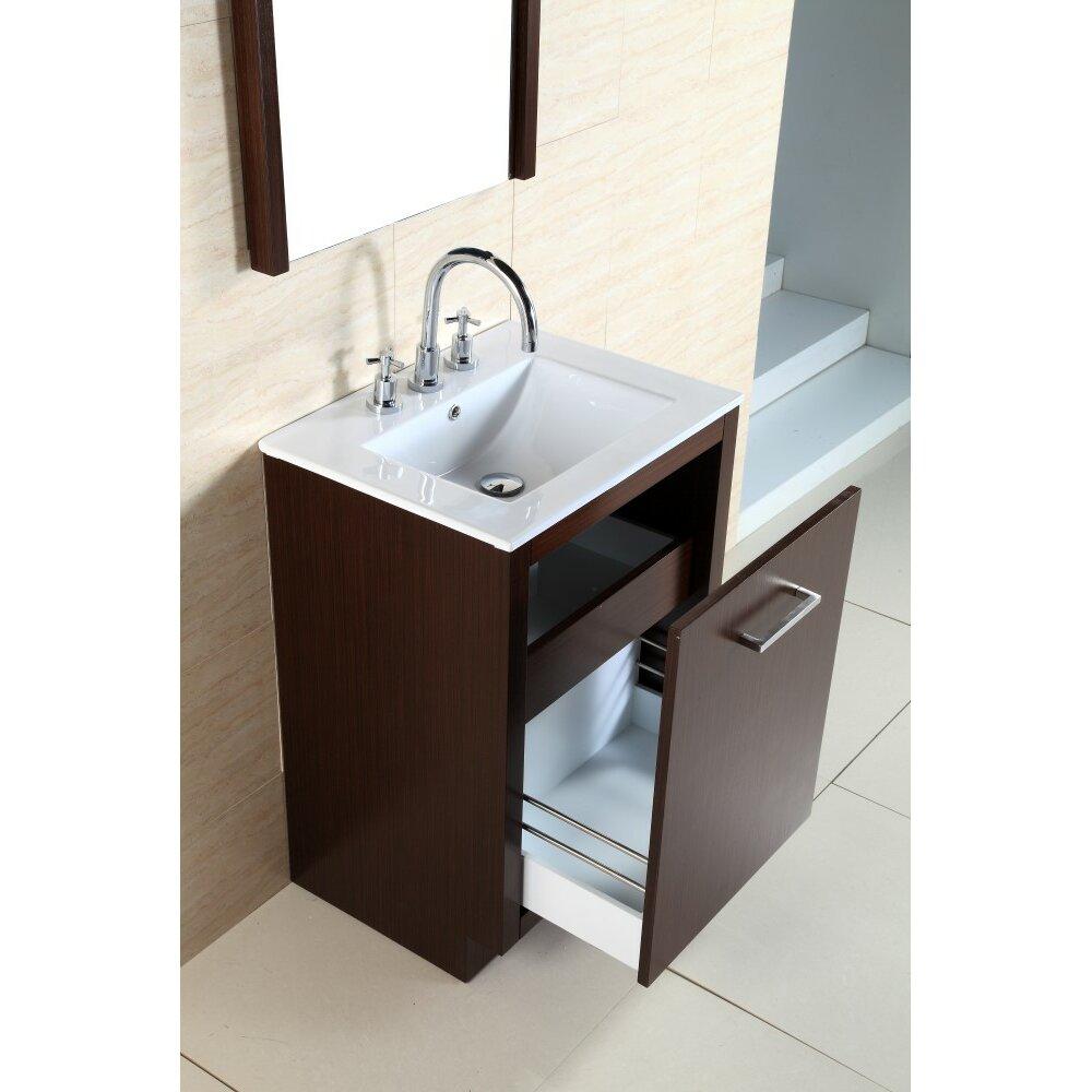 Bellaterra Home 24 Single Sink Vanity Set Wayfair