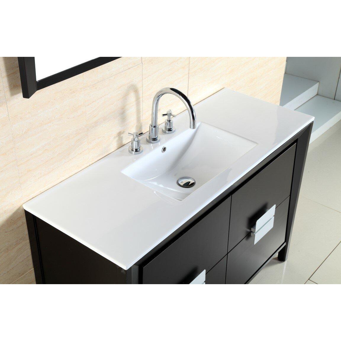 Bellaterra Home 48 Single Sink Vanity Set