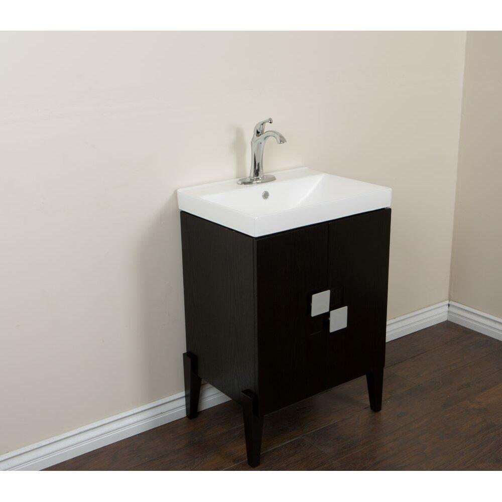 Bellaterra Home 25 Single Sink Vanity Set Wayfair
