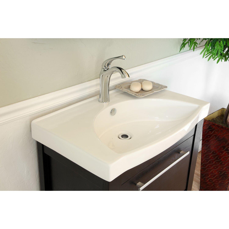 "Bellaterra Home Farnsworth 28"" Single Bathroom Vanity Set"
