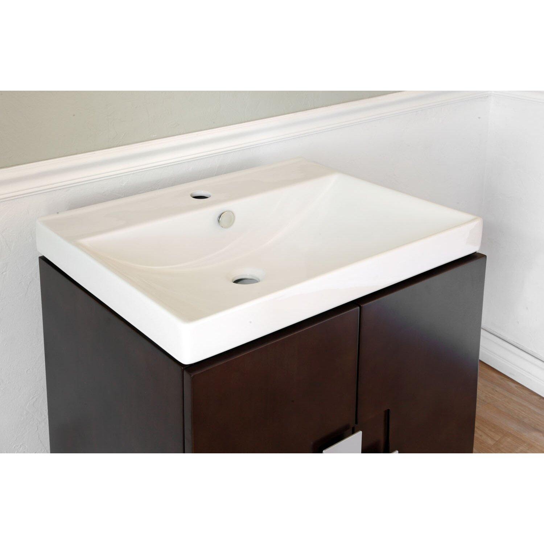 """Bellaterra Home St Germain 25"""" Single Bathroom Vanity Set"""
