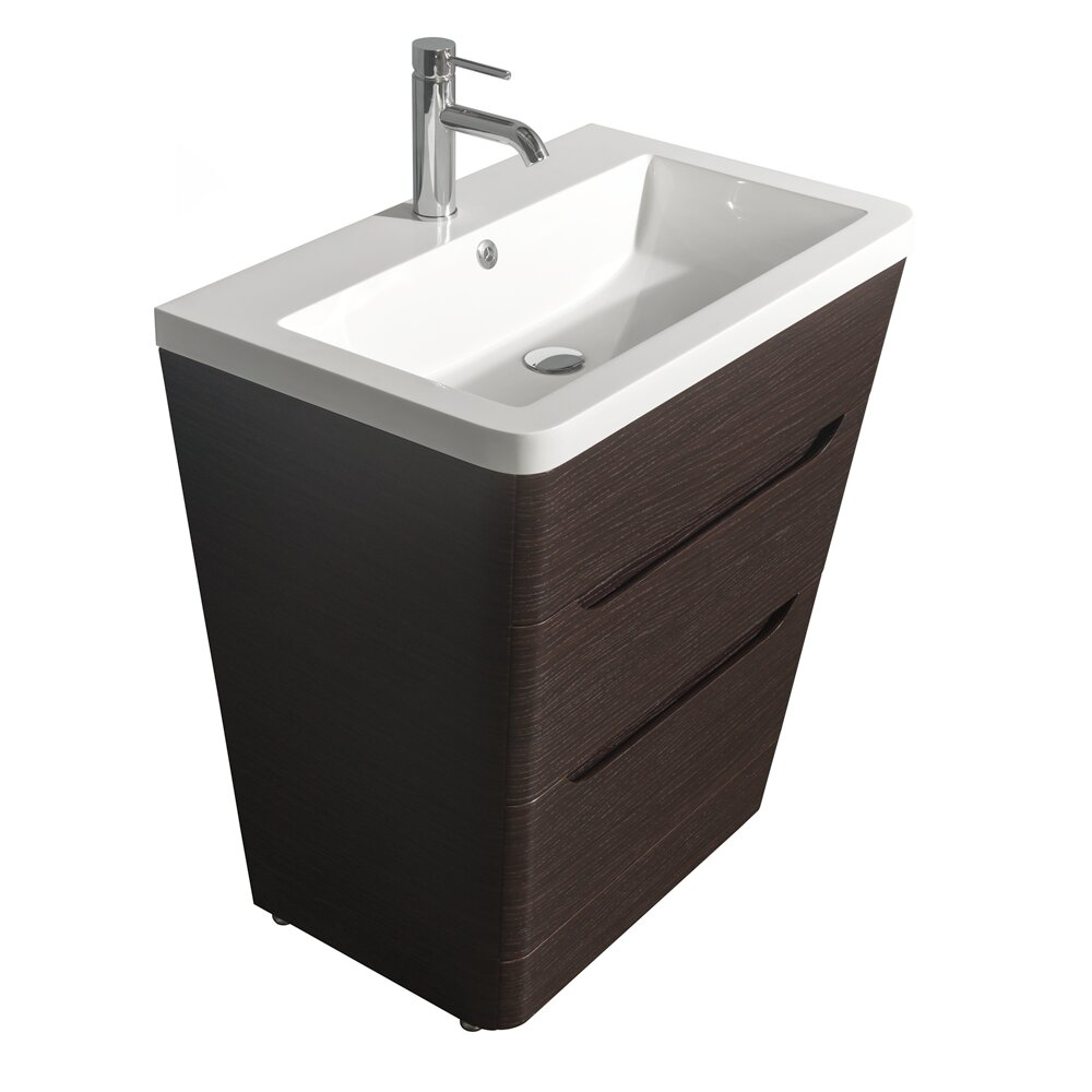 "Bathroom Vanity Pedestal: Wyndham Collection Caprice 30"" Pedestal Bathroom Vanity"