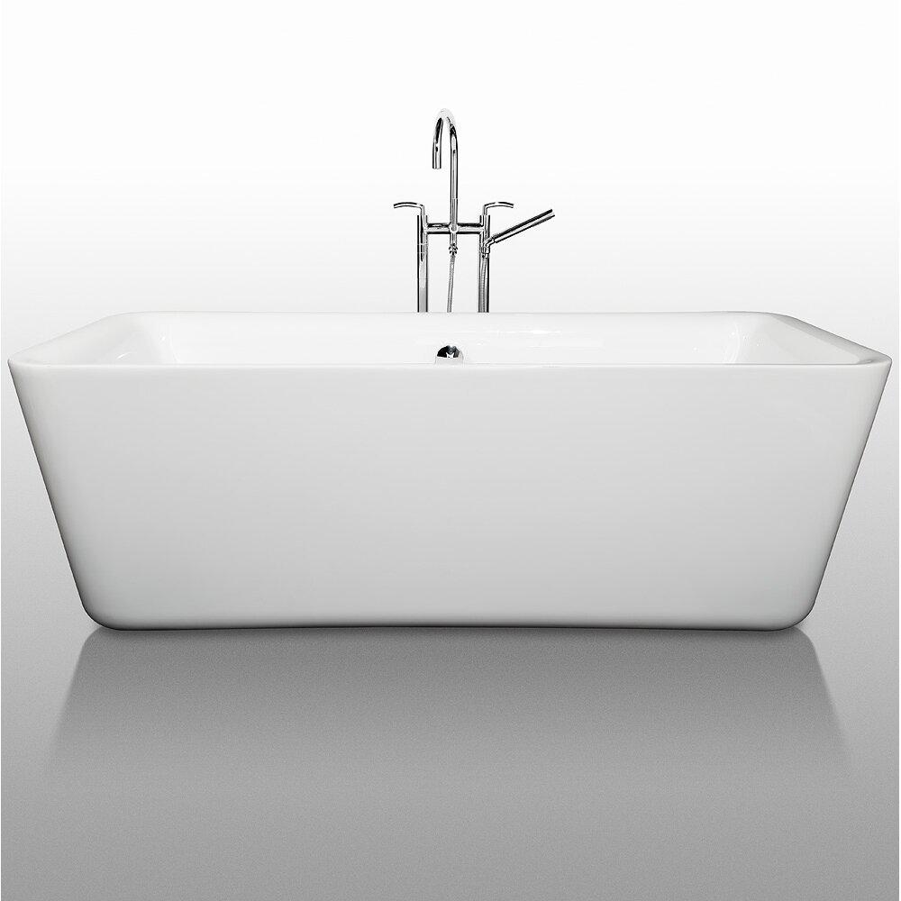 Wyndham Collection Emily 69 Quot X 31 Quot Soaking Bathtub
