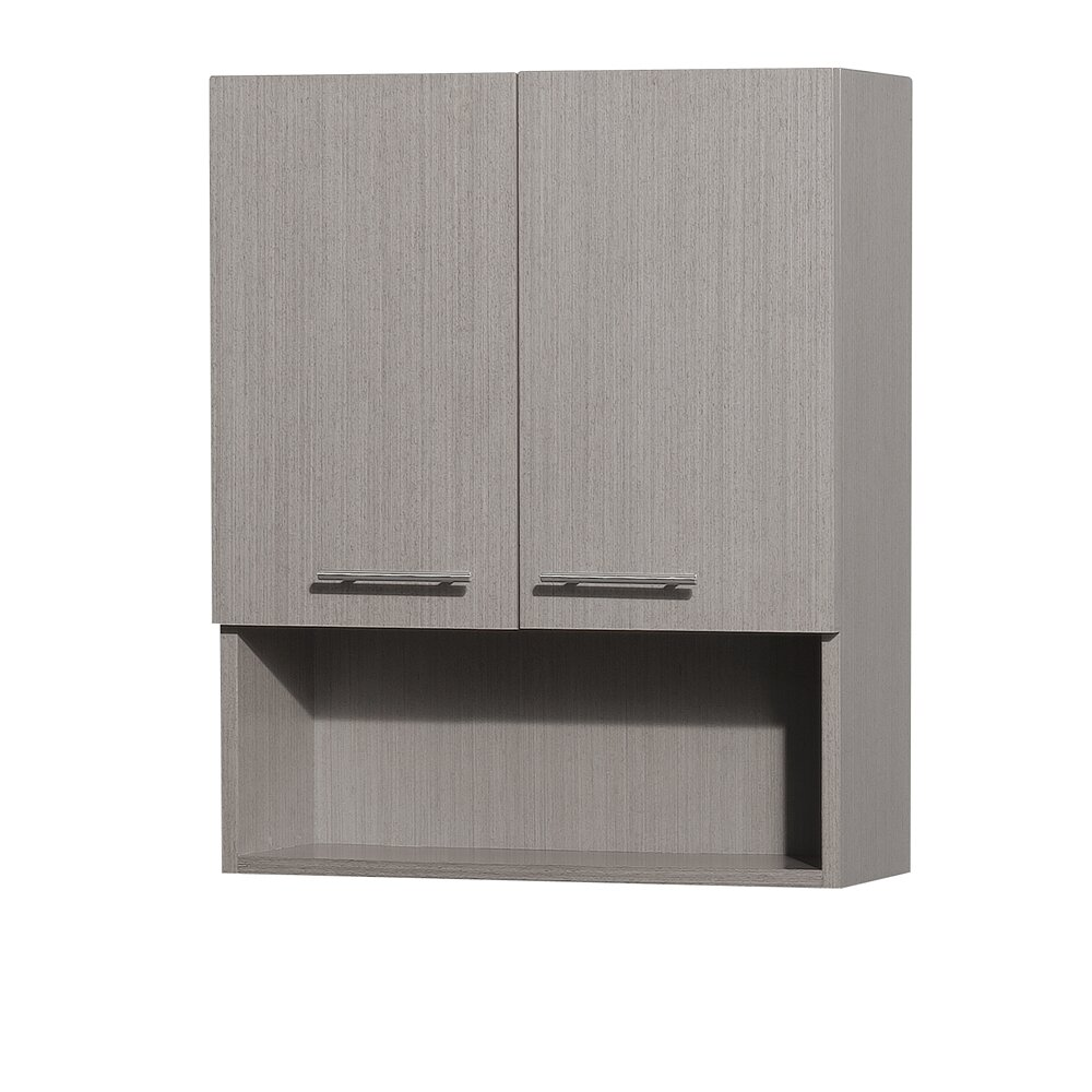 Wyndham Collection Centra Bathroom 24 X 29 Wall Mounted Cabinet Reviews Wayfair