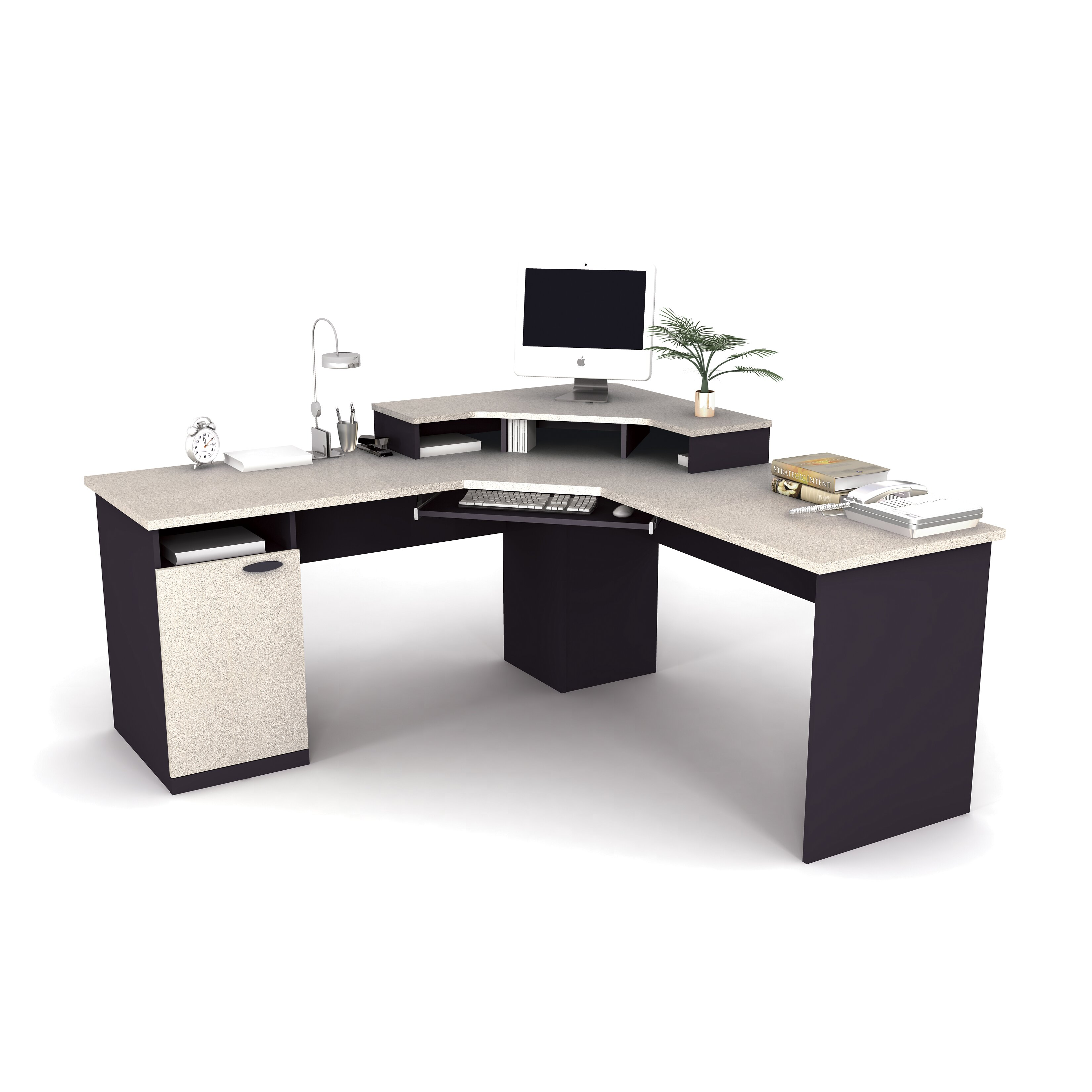 Bestar Hampton Computer Desk & Reviews  Wayfair. Kidney Tables. Gold Table. Half Round Accent Table. Desk Stationery. Simple Corner Desk Plans. Desk Oscillating Fan. Pool Tables. Mixer Table