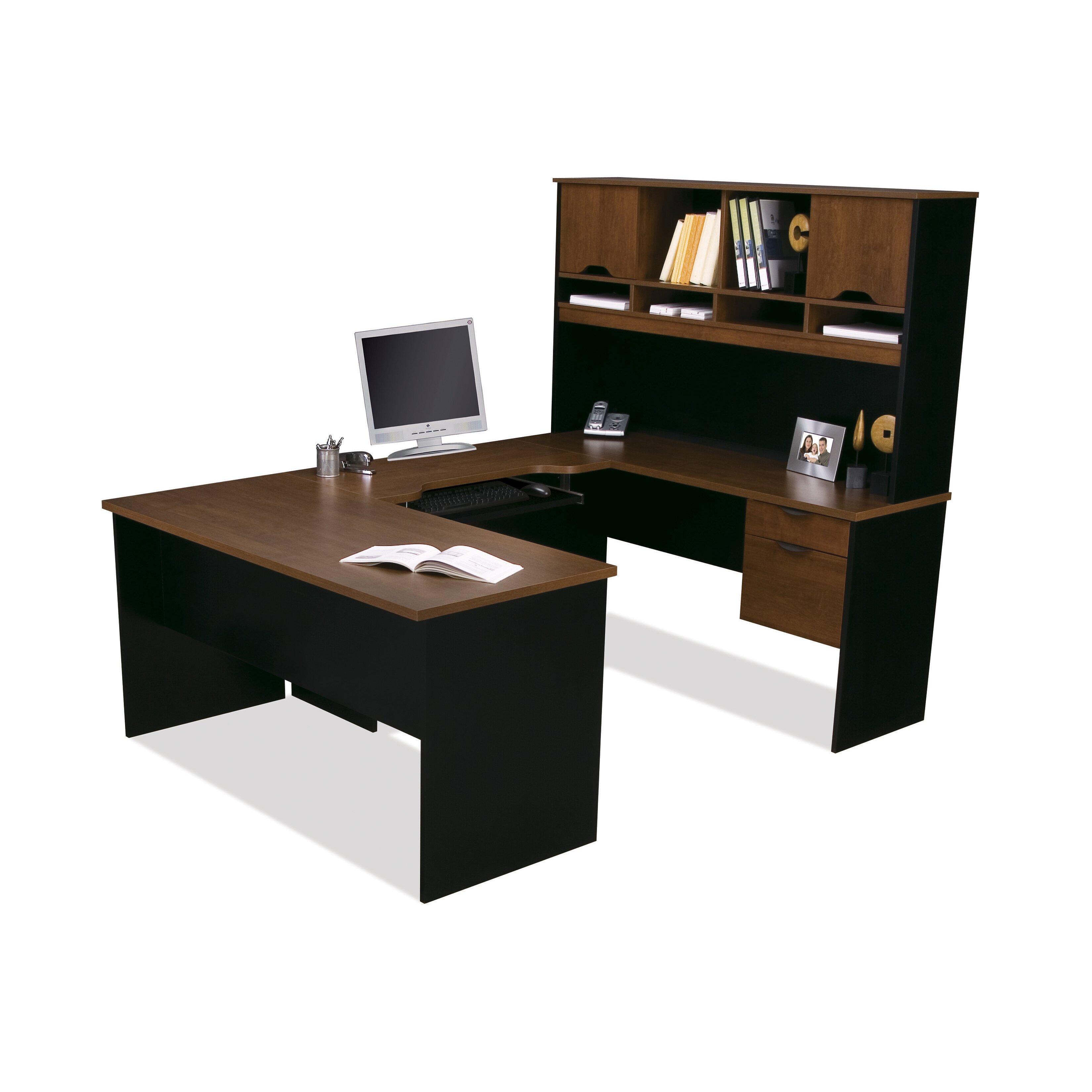 Bestar Innova Executive Desk  Wayfair. 7ft Slate Pool Table. Mini Desk Lamp. Expandable Desk Drawer Organizer. Hotel Front Desk Attire