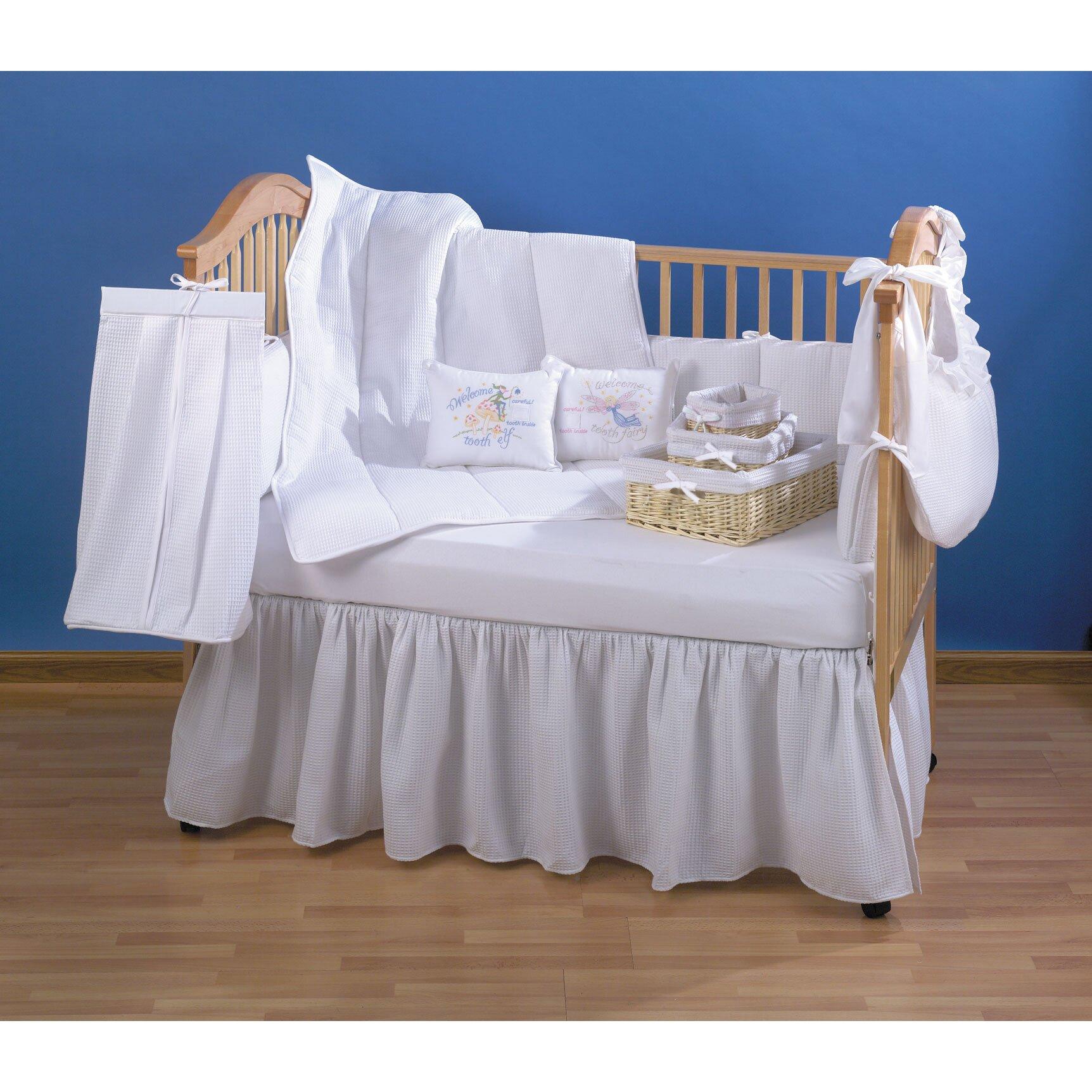 Trend Lab Pique 4 Piece Crib Bedding Set Amp Reviews Wayfair