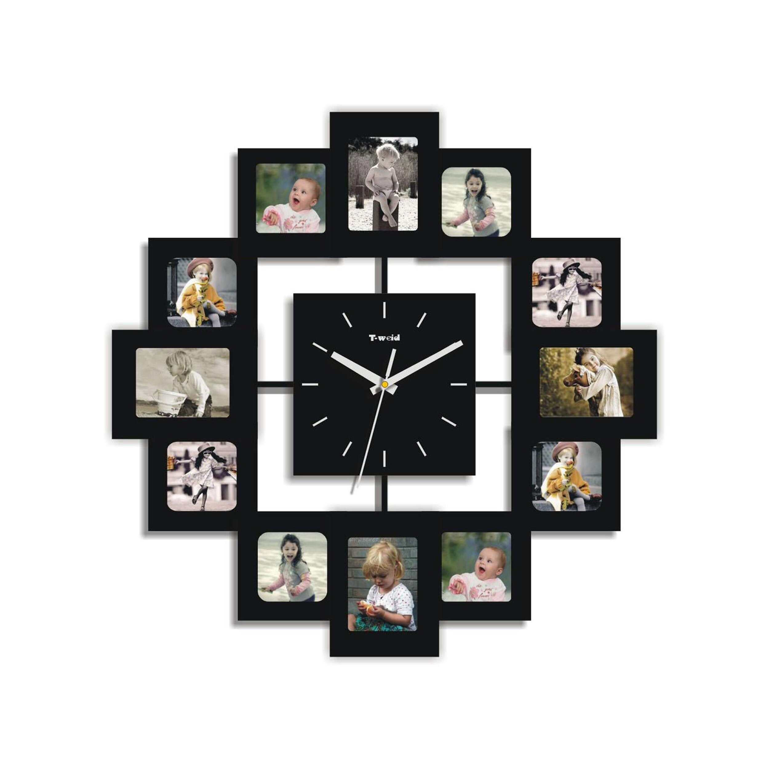 creative motion picture frame wall clock reviews wayfair