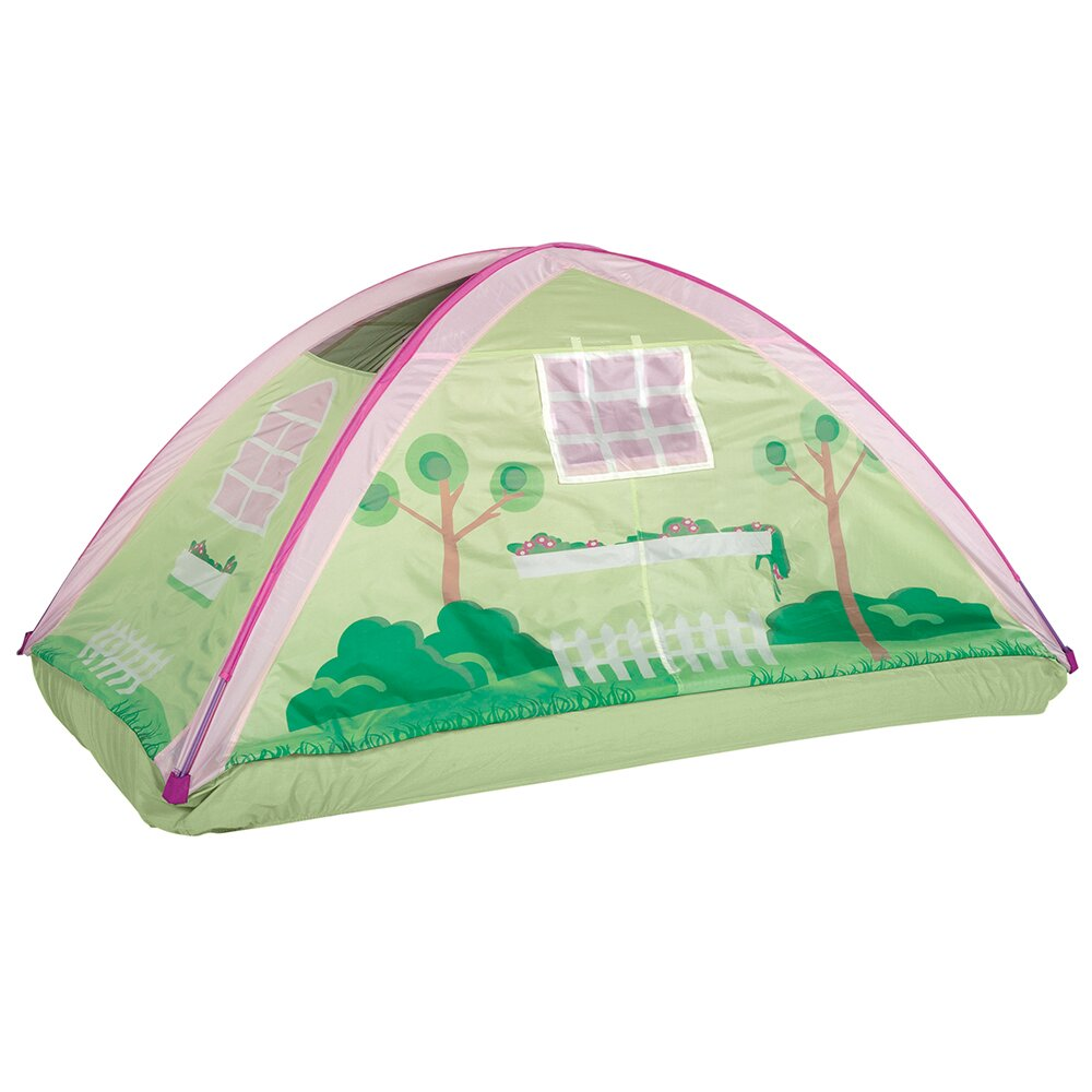 Pacific play tents cottage bed play tent for Tent cottage