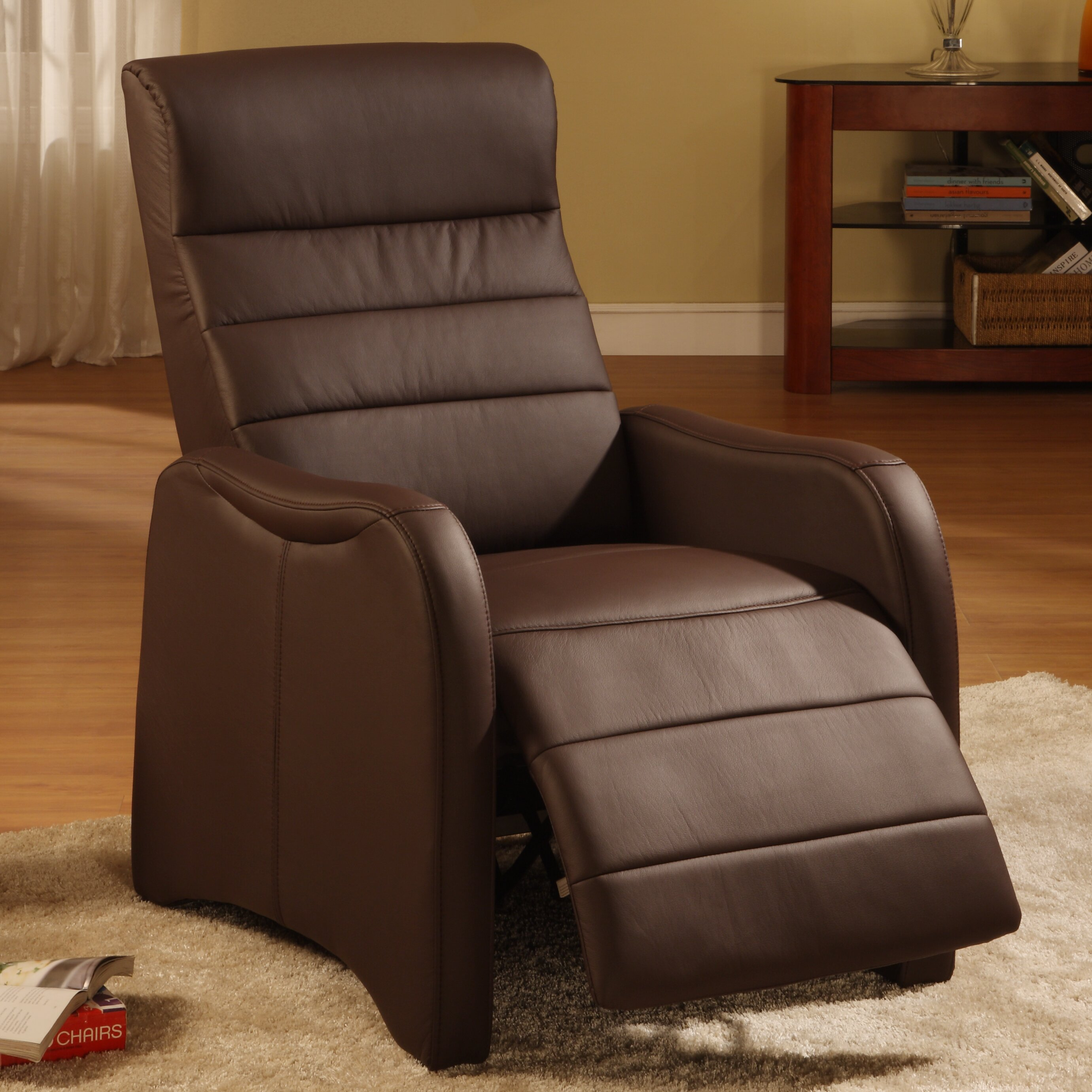 Rissanti Campbell Ergonomic Recliner Amp Reviews Wayfair