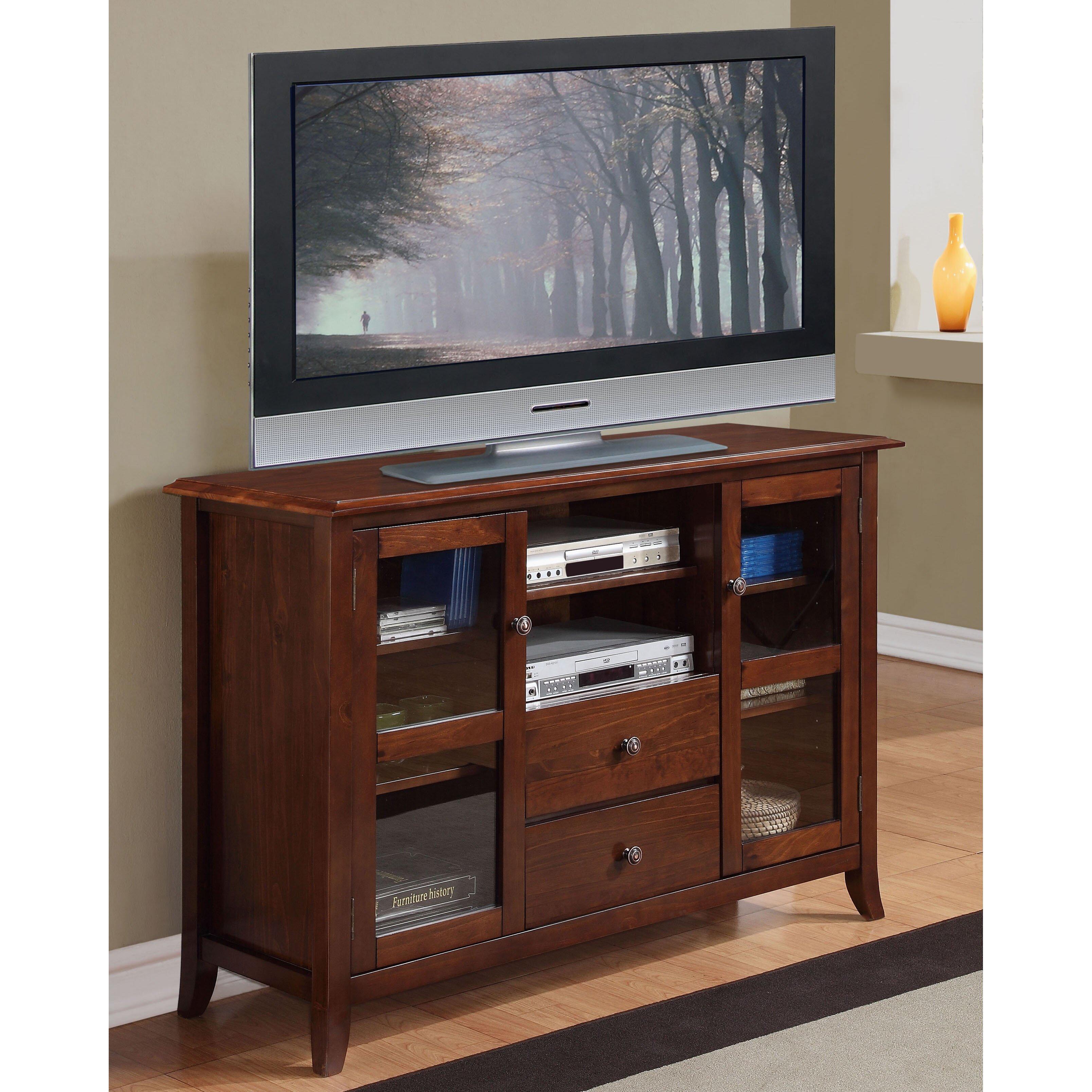 Simpli Home Devon TV Stand & Reviews