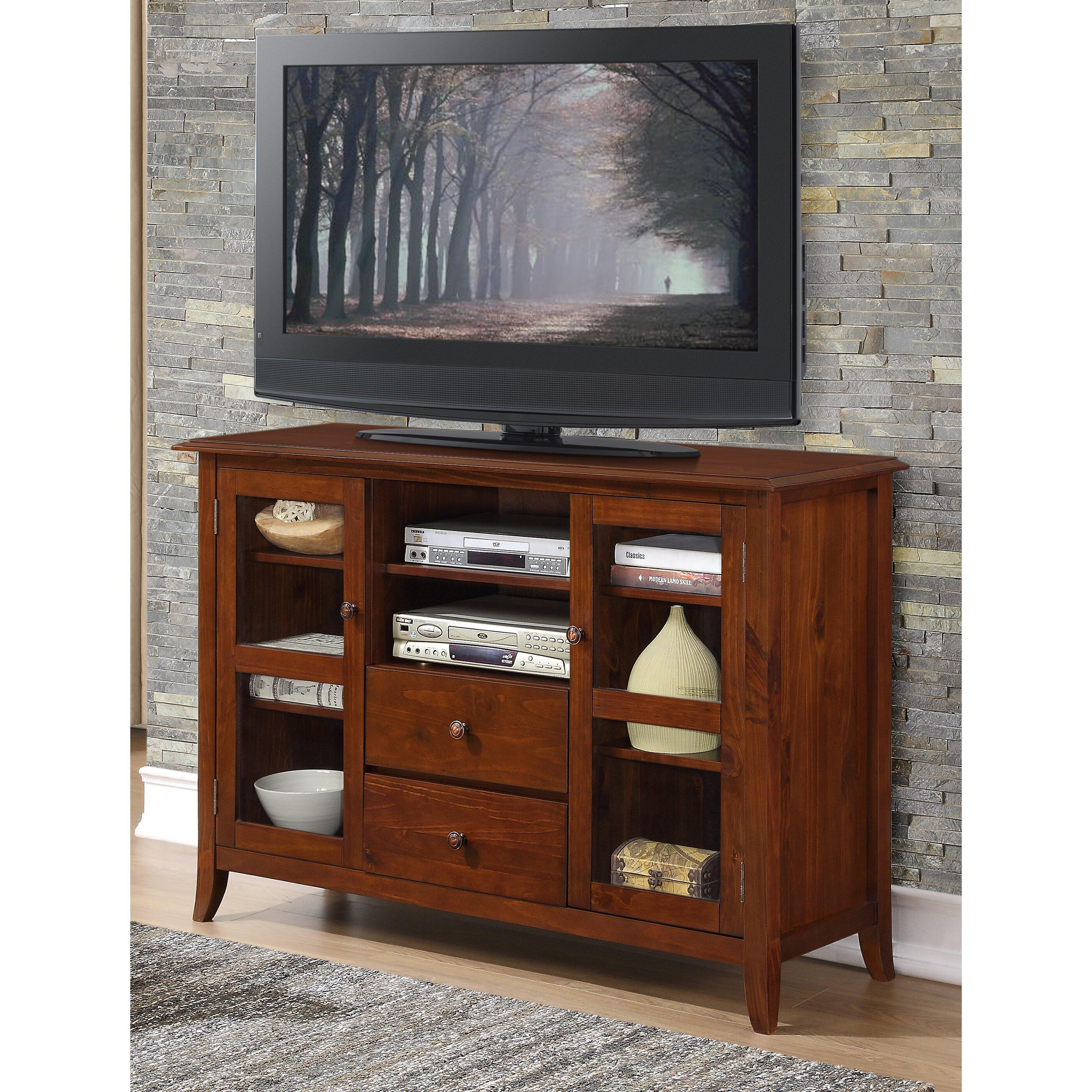 simpli home devon tv stand reviews wayfair. Black Bedroom Furniture Sets. Home Design Ideas