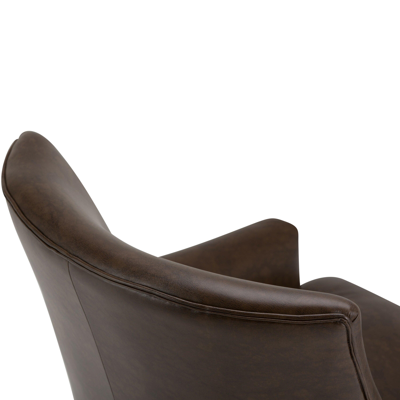 Simpli Home Galway Club Chair & Reviews