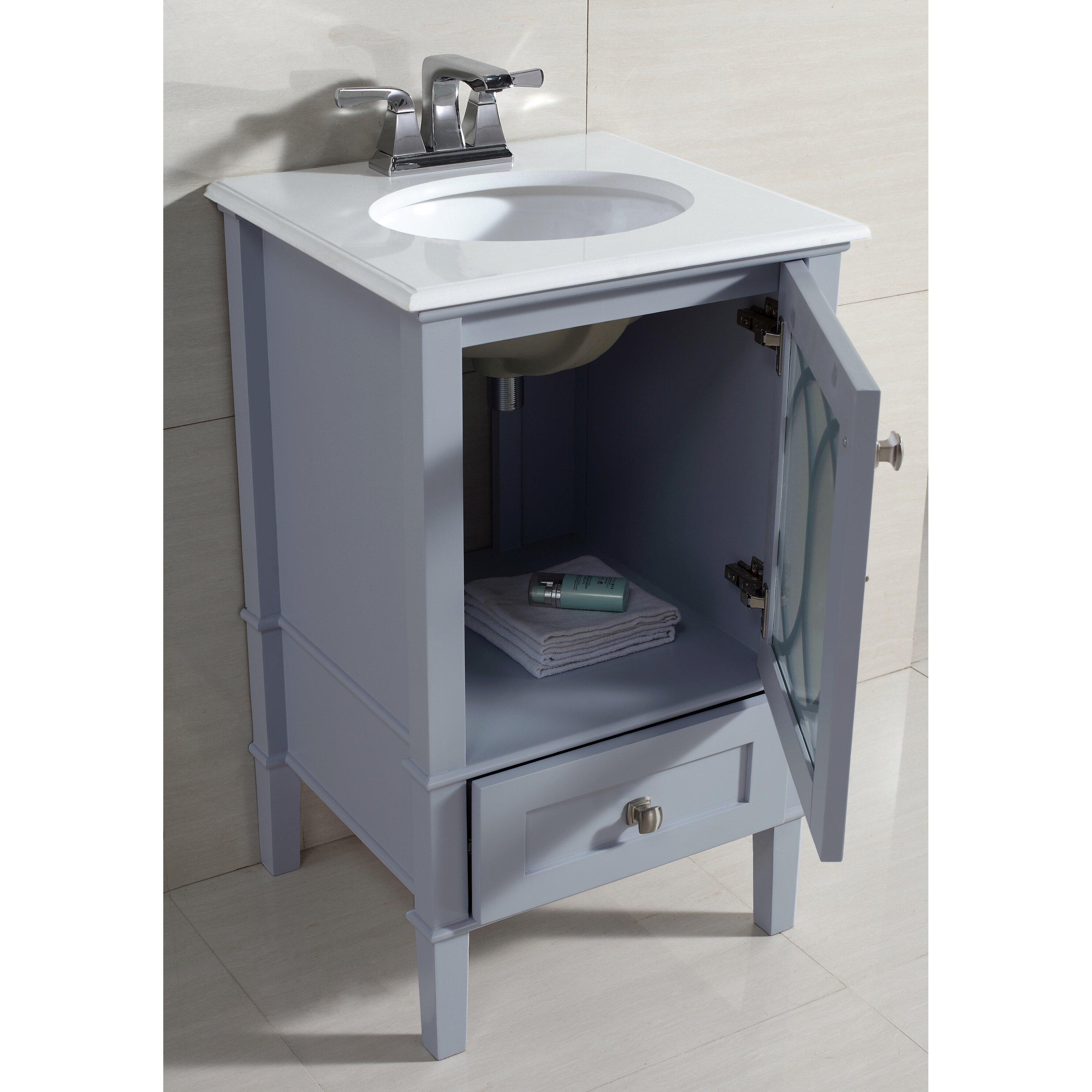 simpli home paige 21 single bathroom vanity set reviews wayfair