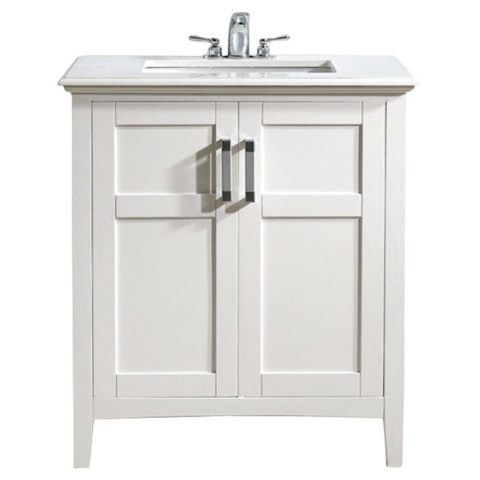 """Simpli Home Winston 31"""" Single Bathroom Vanity Set"""
