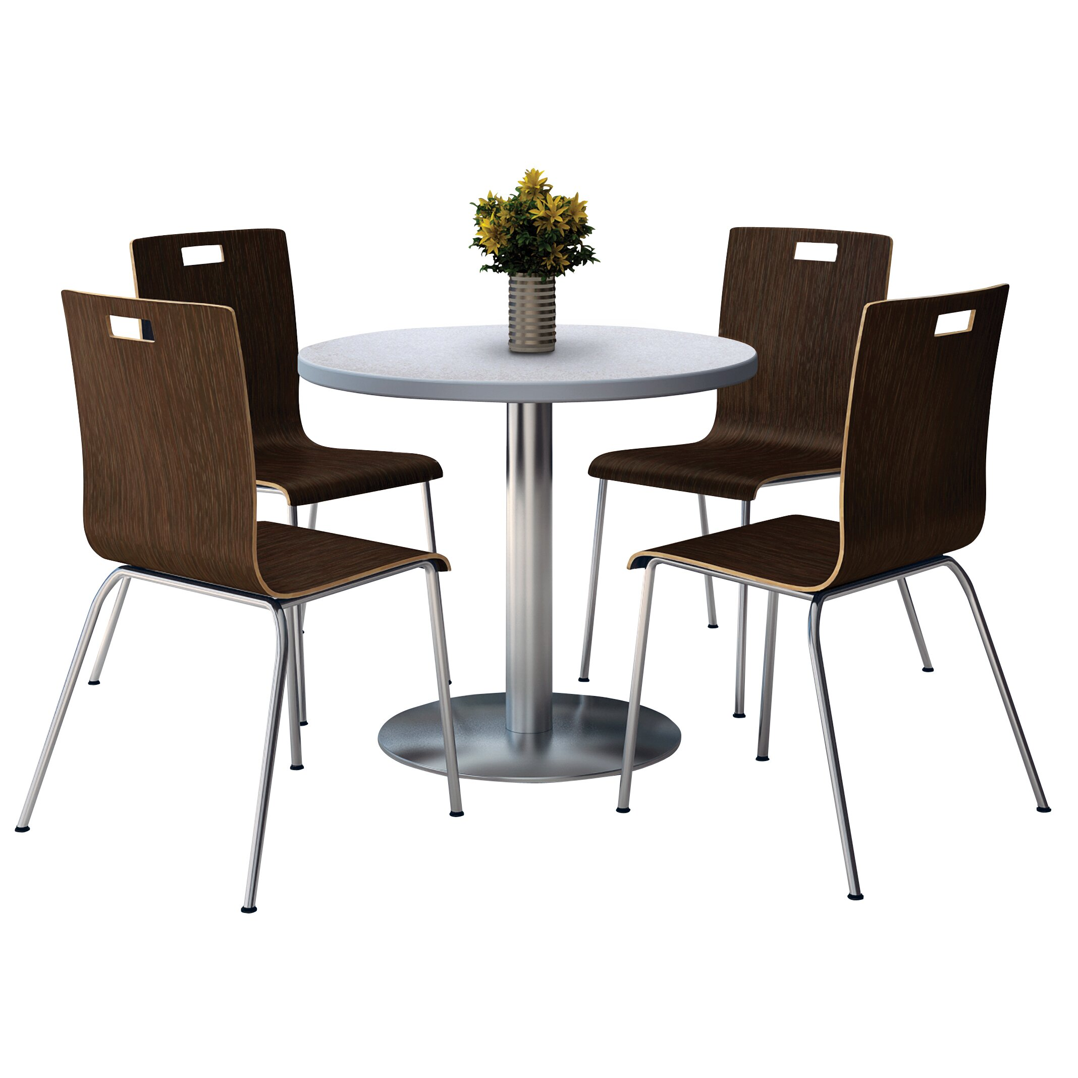 Round school table - Round School Lunch Table