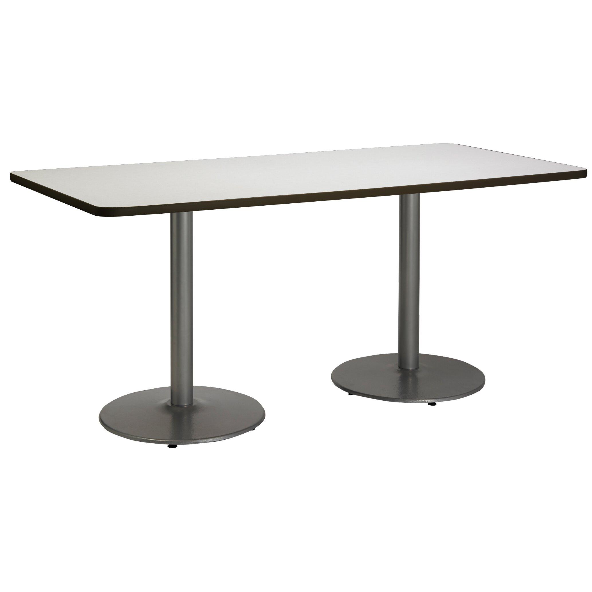Kfi Seating 72 Quot X 30 Quot Round Base Pedestal Table Wayfair
