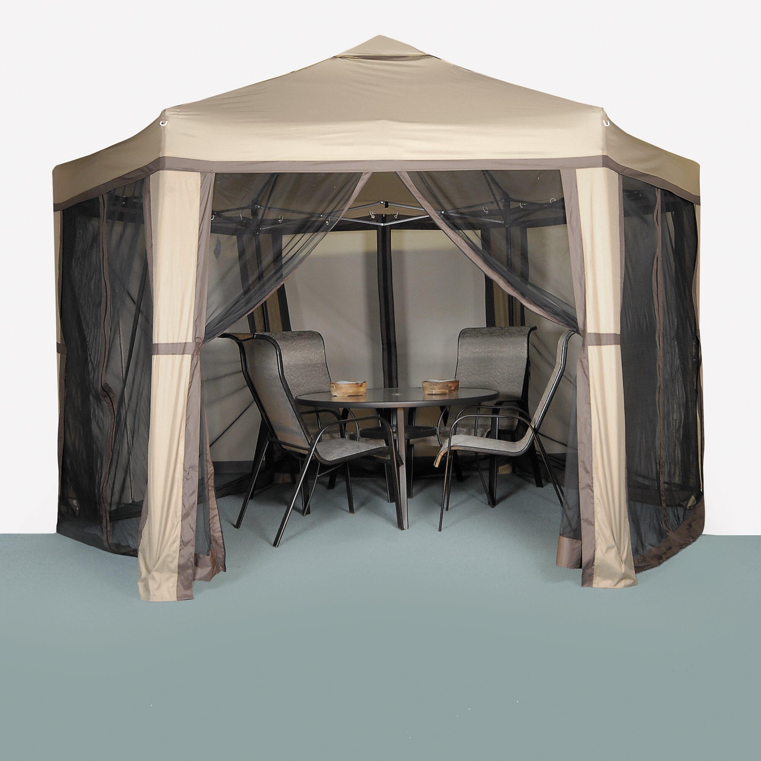 lb international promo hex 12 ft w x 10 ft d polyester. Black Bedroom Furniture Sets. Home Design Ideas