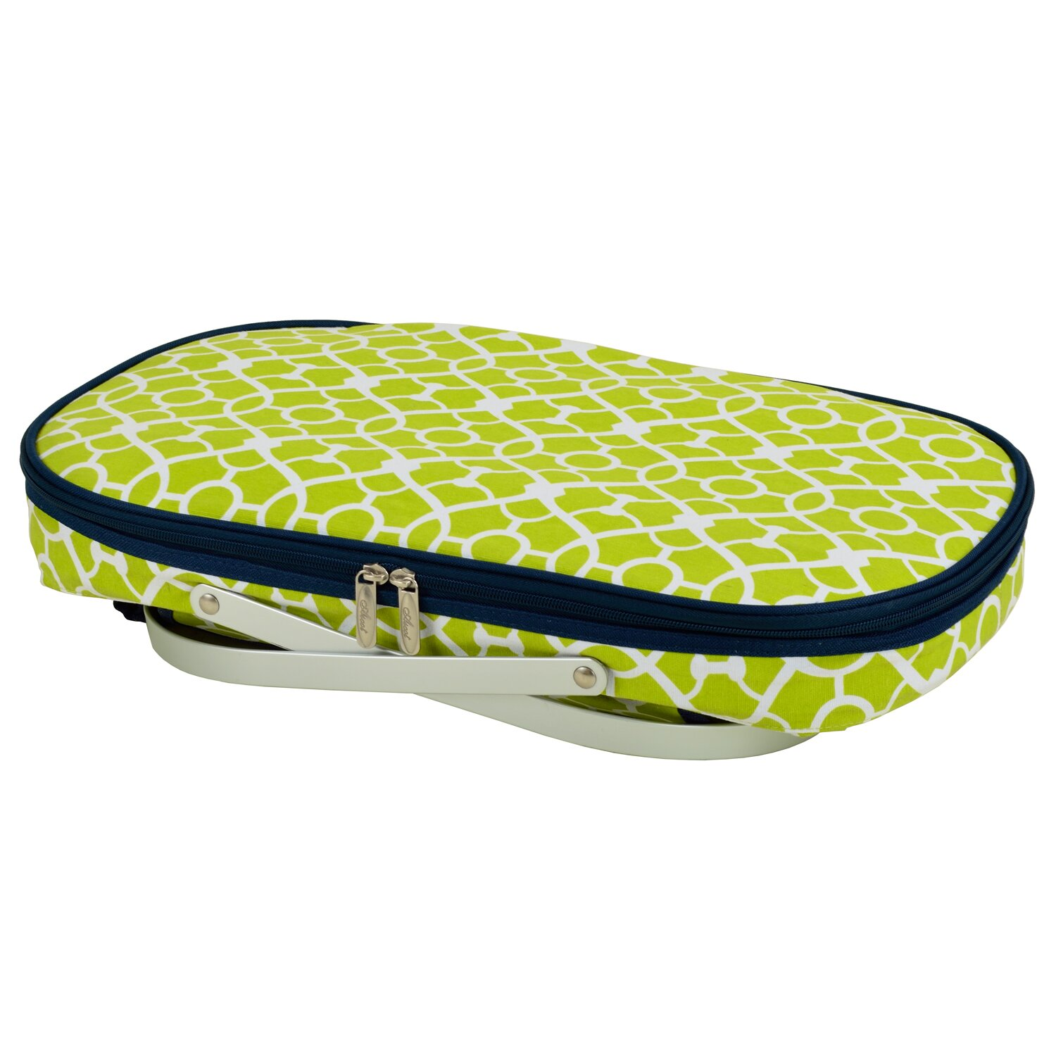 Picnic At Ascot Collapsible Insulated Picnic Basket For 4 : Picnic at ascot trellis collapsible insulated basket