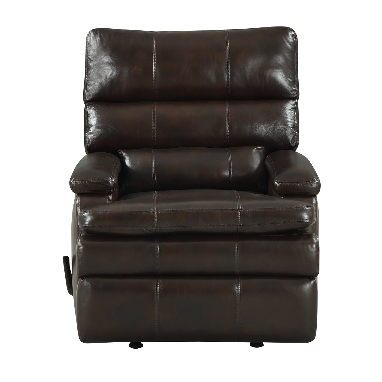 At Home Designs Belmont Leather Rocker Recliner Reviews