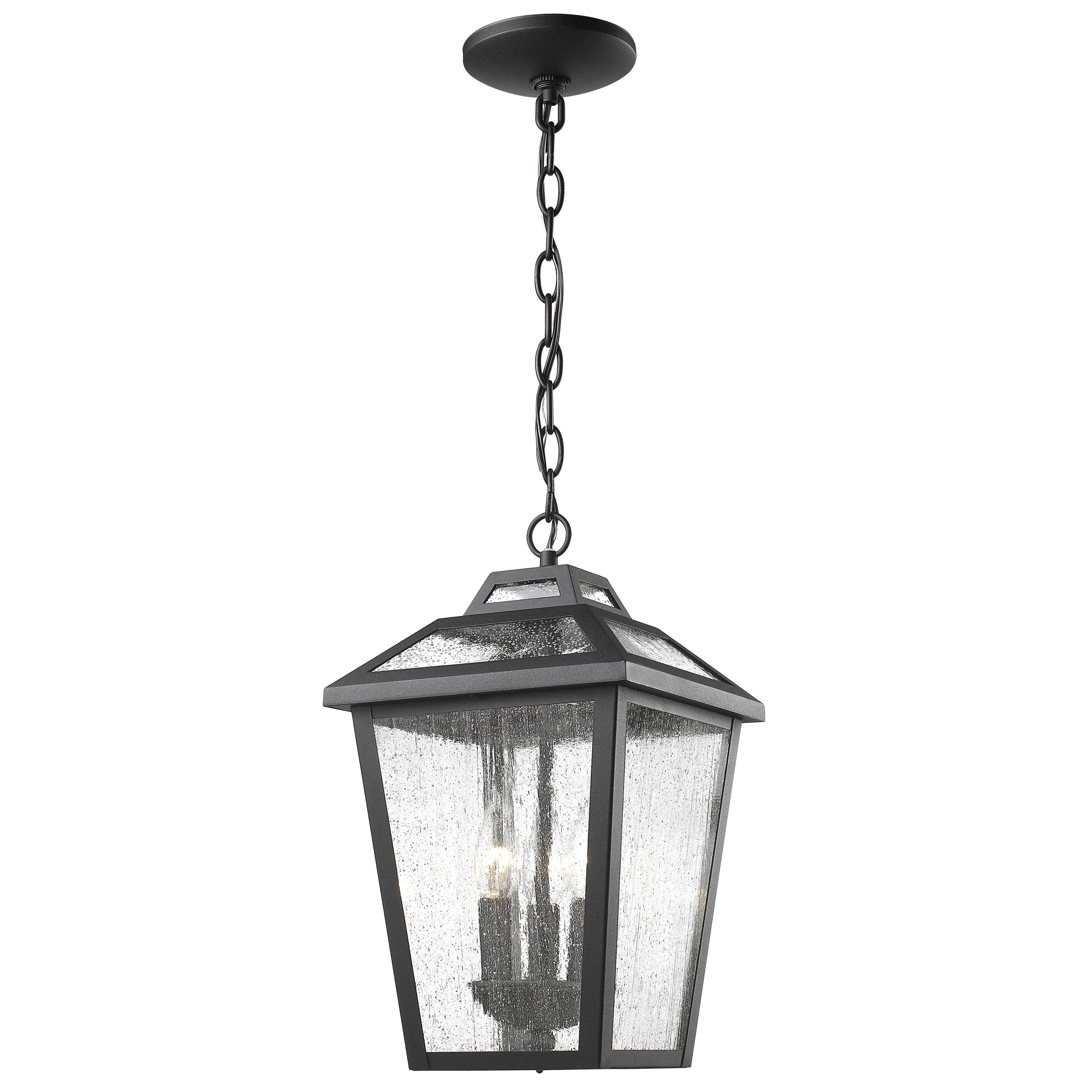 Z Lite Bayland 3 Light Outdoor Hanging Lantern