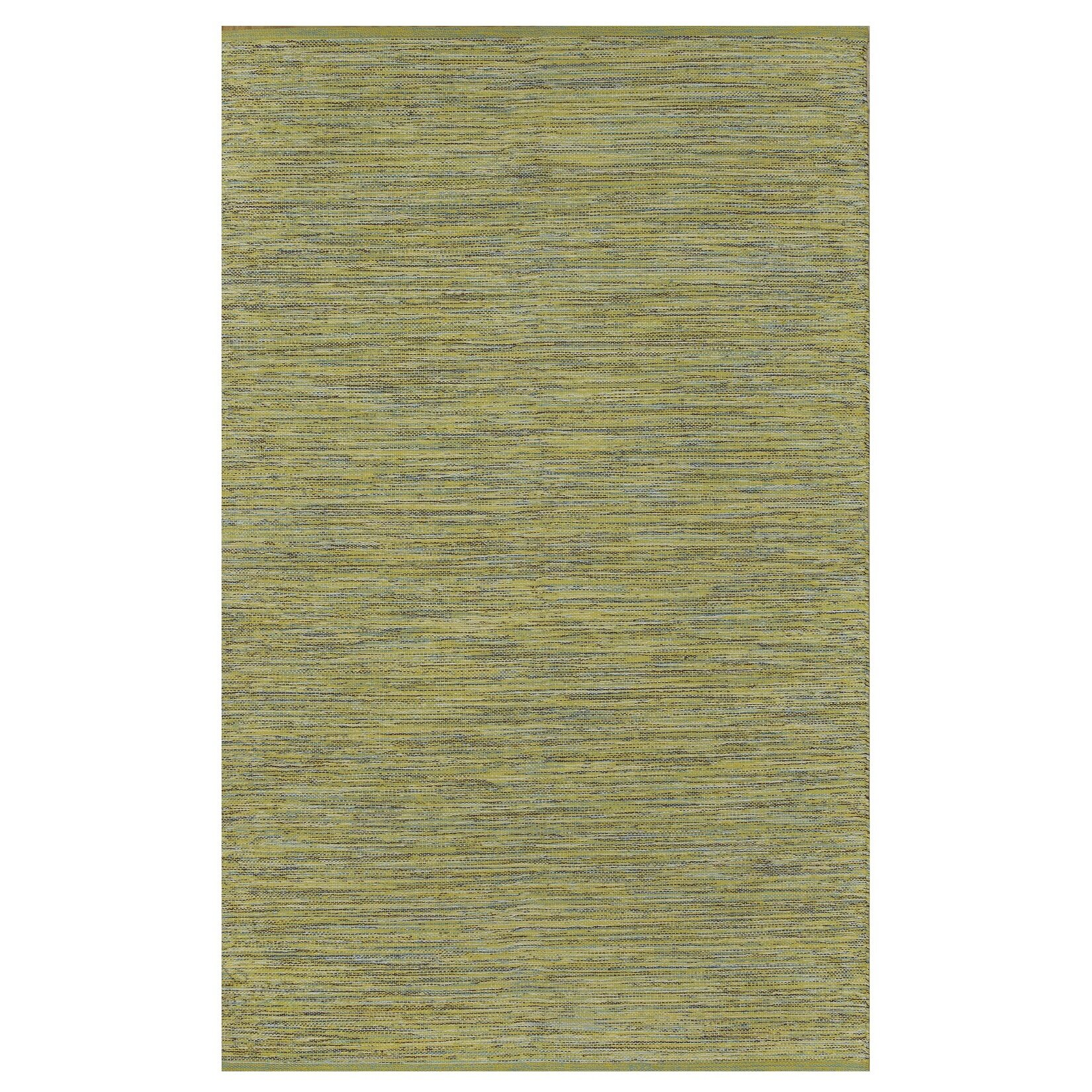 Fab Rugs Zen Cancun Lemon/Apple Green Area Rug & Reviews