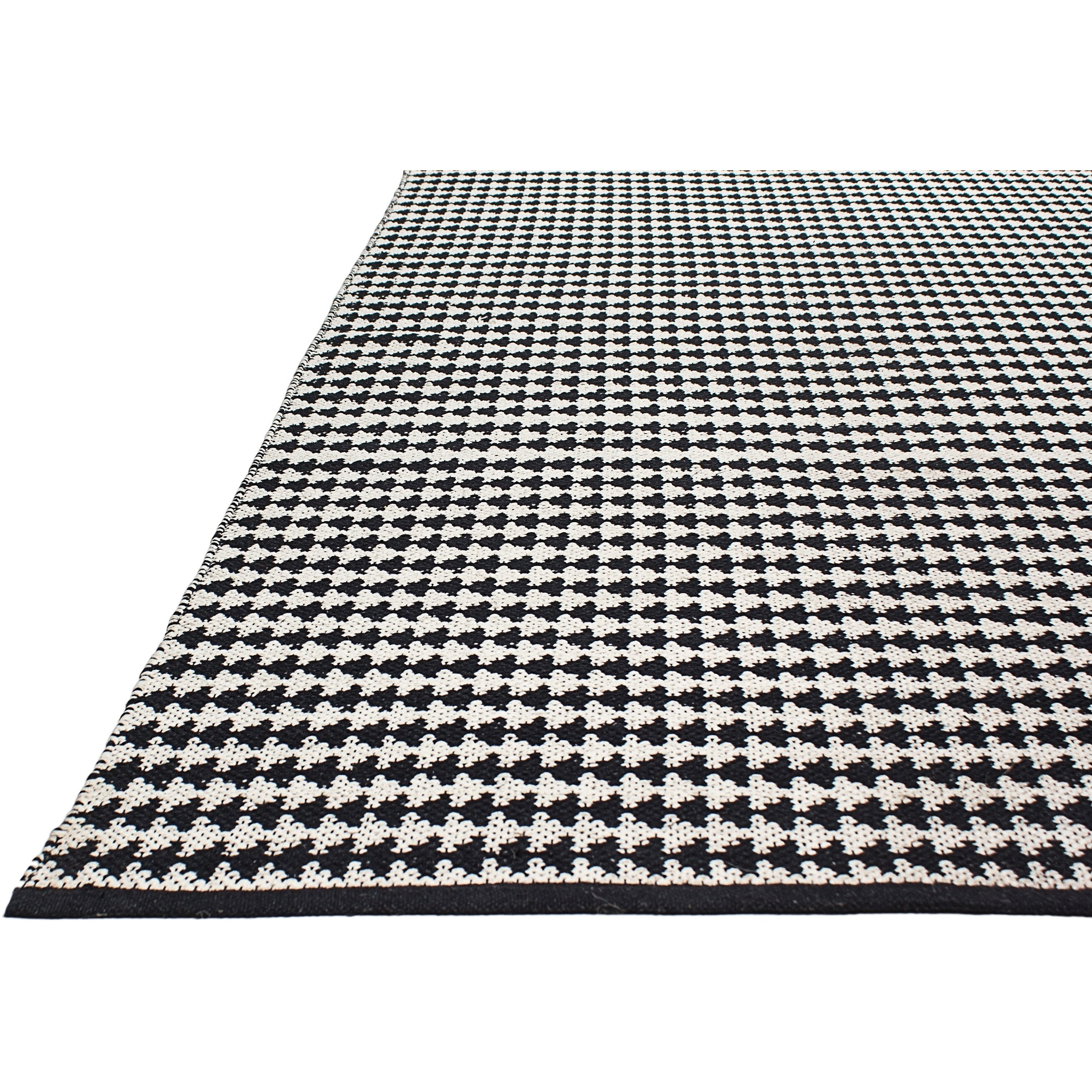 Fab Rugs Zen Hand-Woven Black/White Area Rug & Reviews