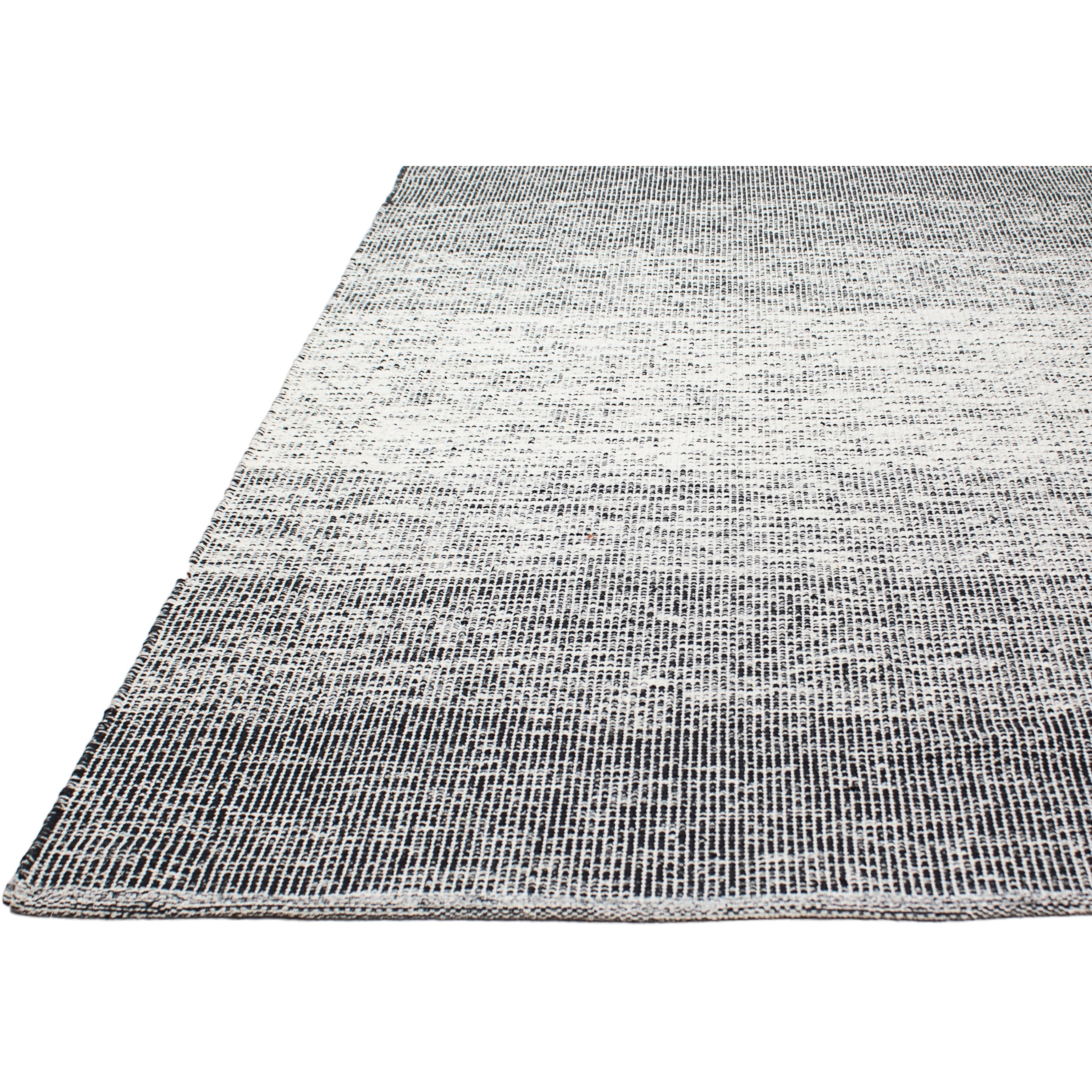 Fab Rugs Zen Hand-Woven Black/Gray Area Rug & Reviews