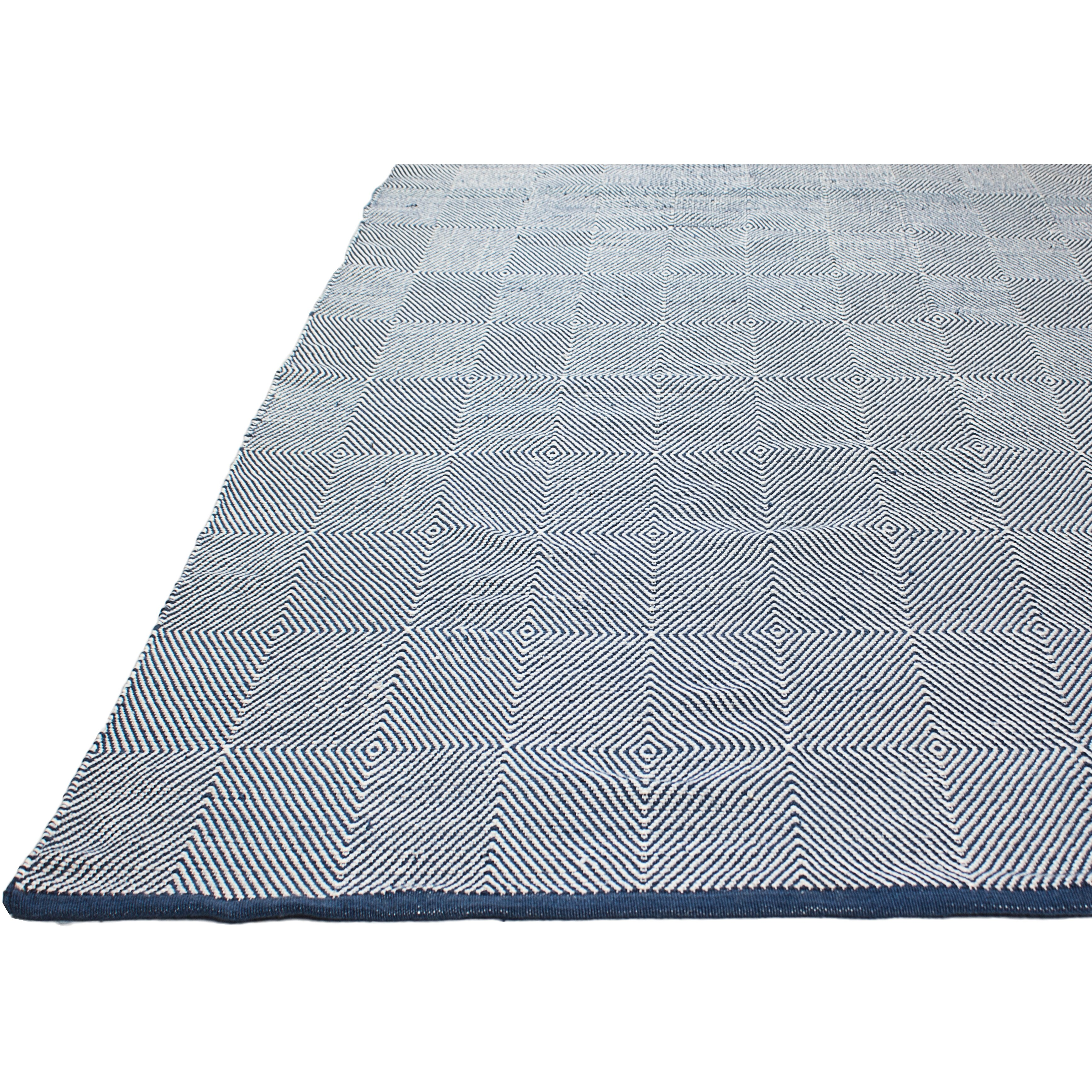 Fab Rugs Zen Blue Indoor/Outdoor Area Rug & Reviews