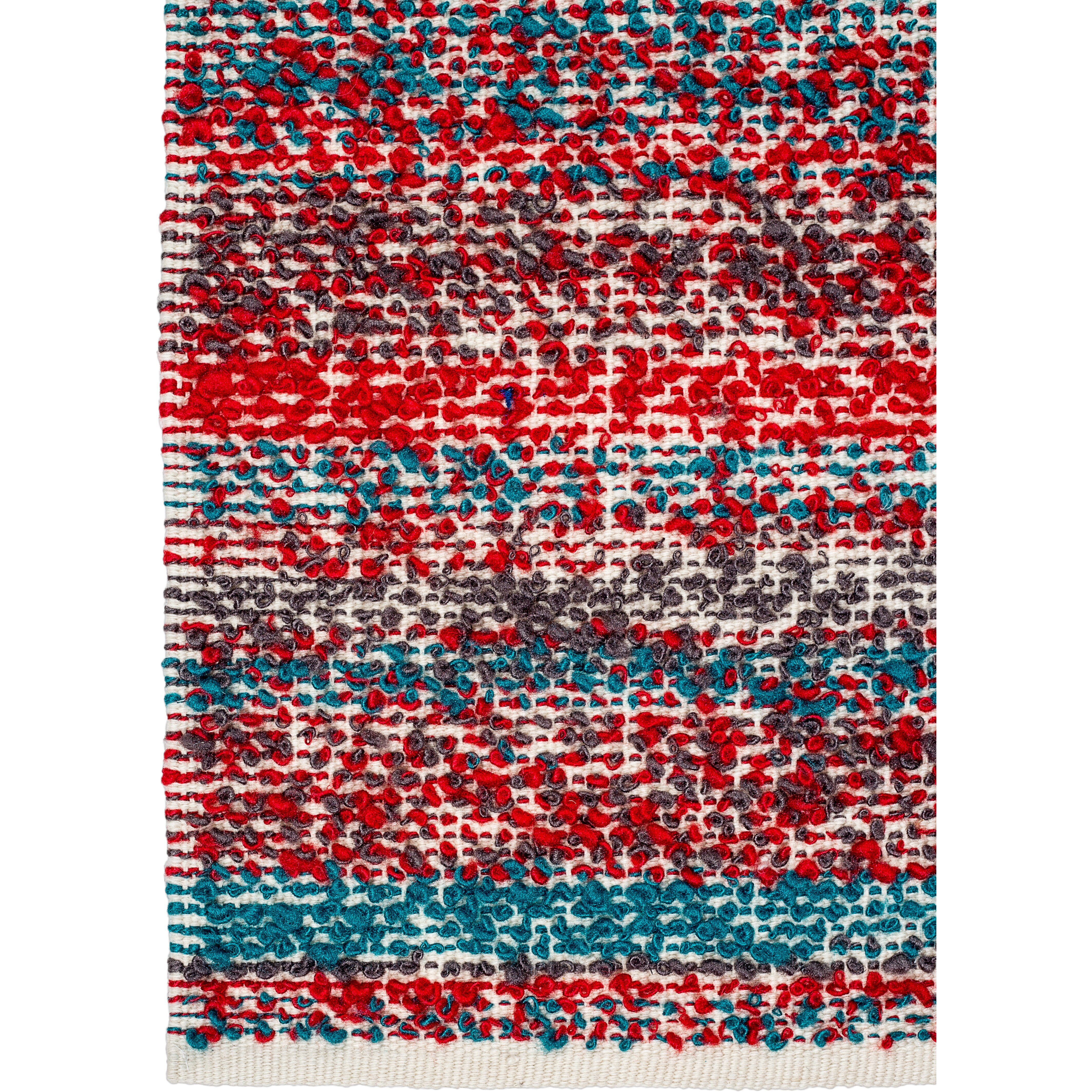 Fab Rugs Estate Hand-Woven Multi-Colored Indoor/Outdoor