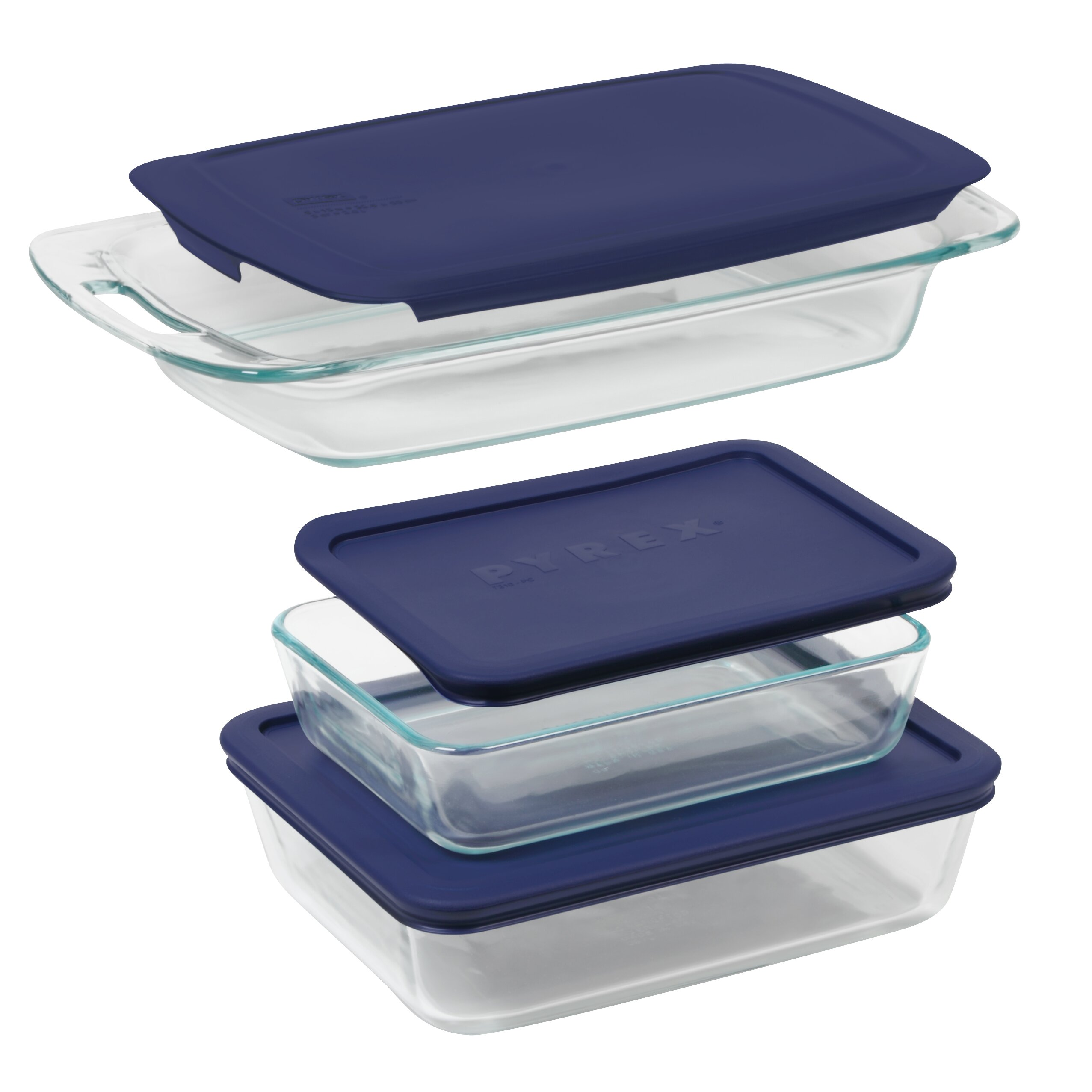 Pyrex Easy Grab 6 Piece Bakeware Set Amp Reviews Wayfair