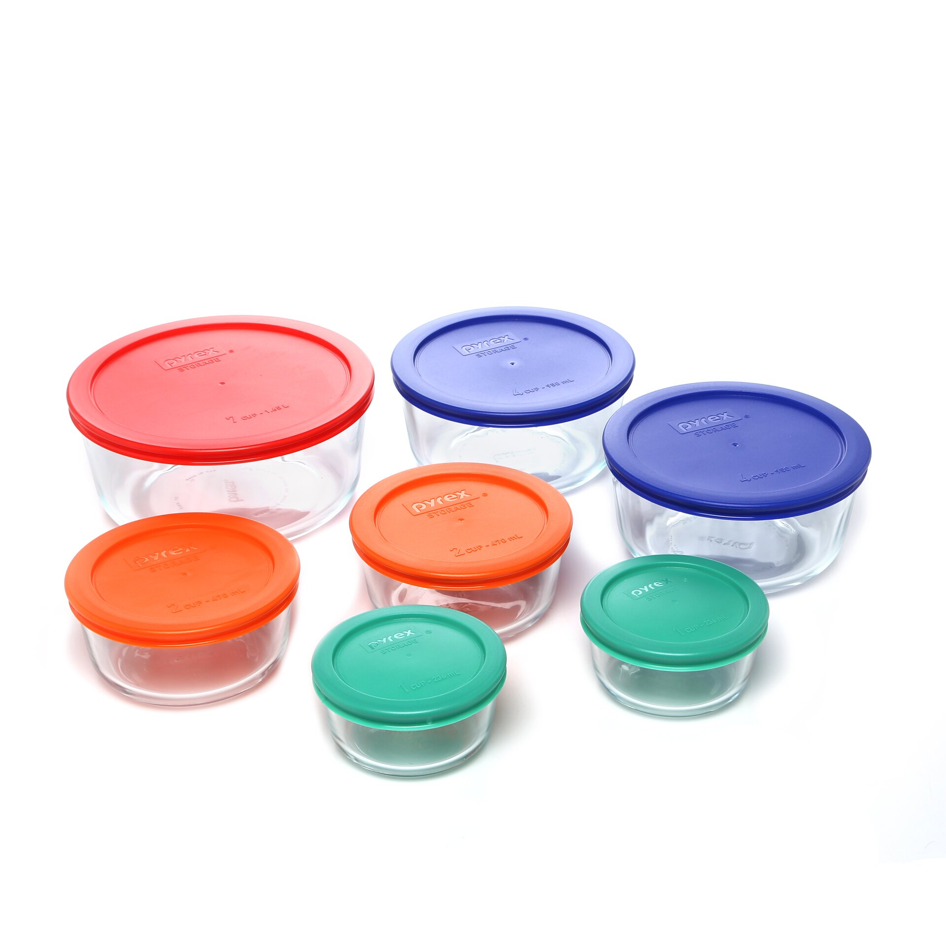 Product Description. Pyrex Simply Store Piece Glass Food Storage Set with Blue Lids pav-testcode.tk Transporting foods for lunches and picnics and storing leftovers for reheating is a cinch with the Pyrex Storage Plus set.
