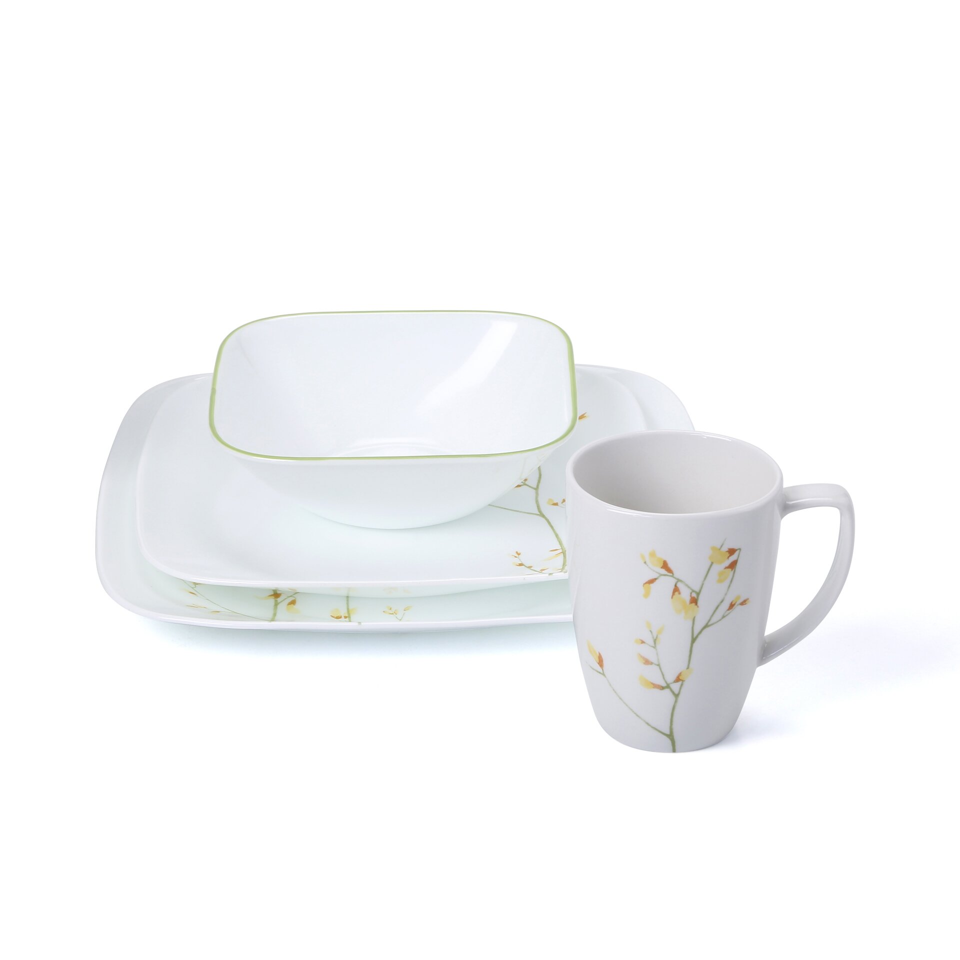 Corelle Kobe 16 Piece Dinnerware Set Reviews Wayfair  sc 1 st  Castrophotos & Corelle Dinnerware Set - Castrophotos
