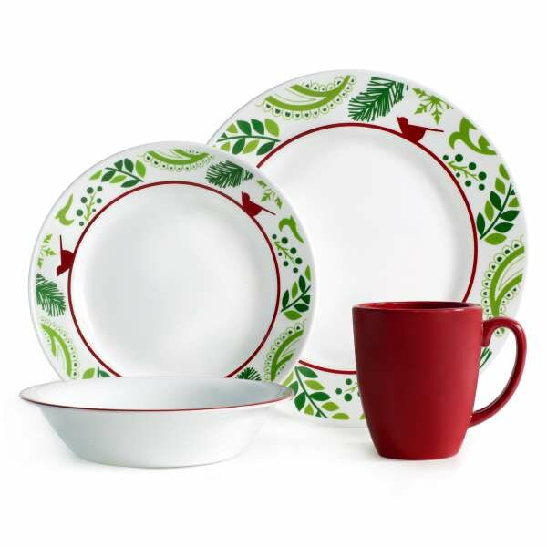 Corelle Impressions 16 Piece Dinnerware Set amp Reviews  : Impressions 16 Piece Dinnerware Set 1117942 from www.wayfair.com size 600 x 600 jpeg 46kB