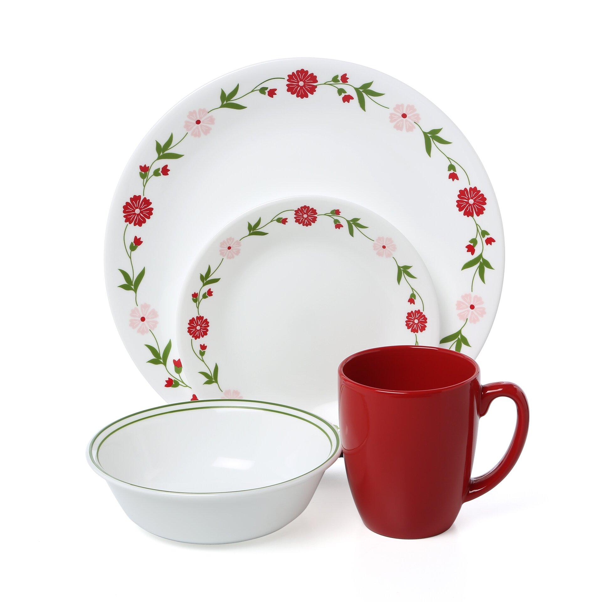 Corelle Livingware Spring Pink 16 Piece Dinnerware Set  : Livingware2BSpring2BPink2B162BPiece2BDinnerware2BSet from www.wayfair.com size 1920 x 1920 jpeg 268kB
