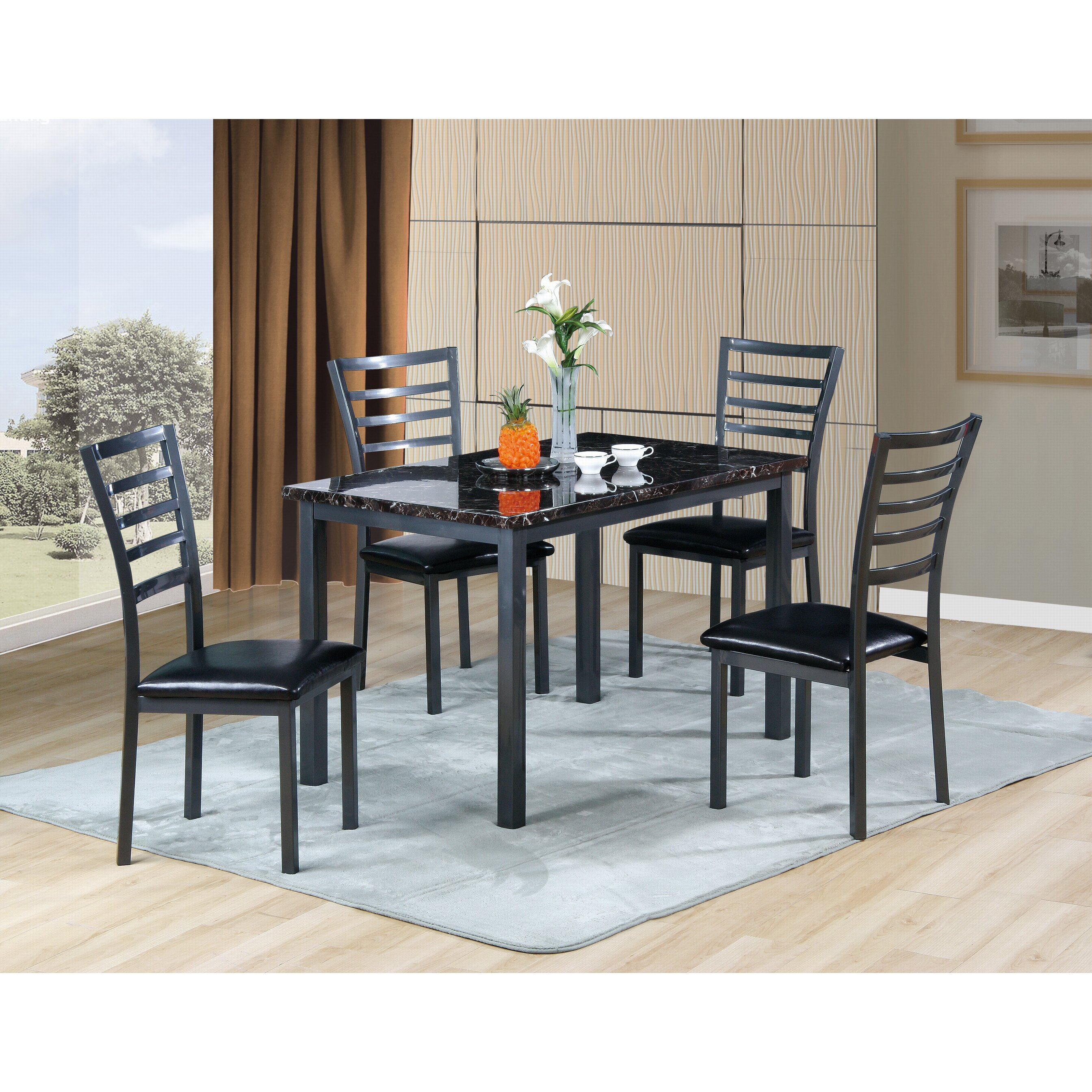 Carlyle Dining Room Set: Williams Import Co. Carlyle 5 Piece Dining Set & Reviews
