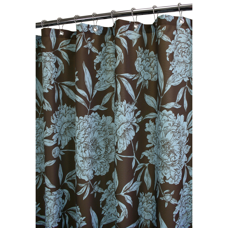Watershed Prints Peony Shower Curtain Reviews Wayfair