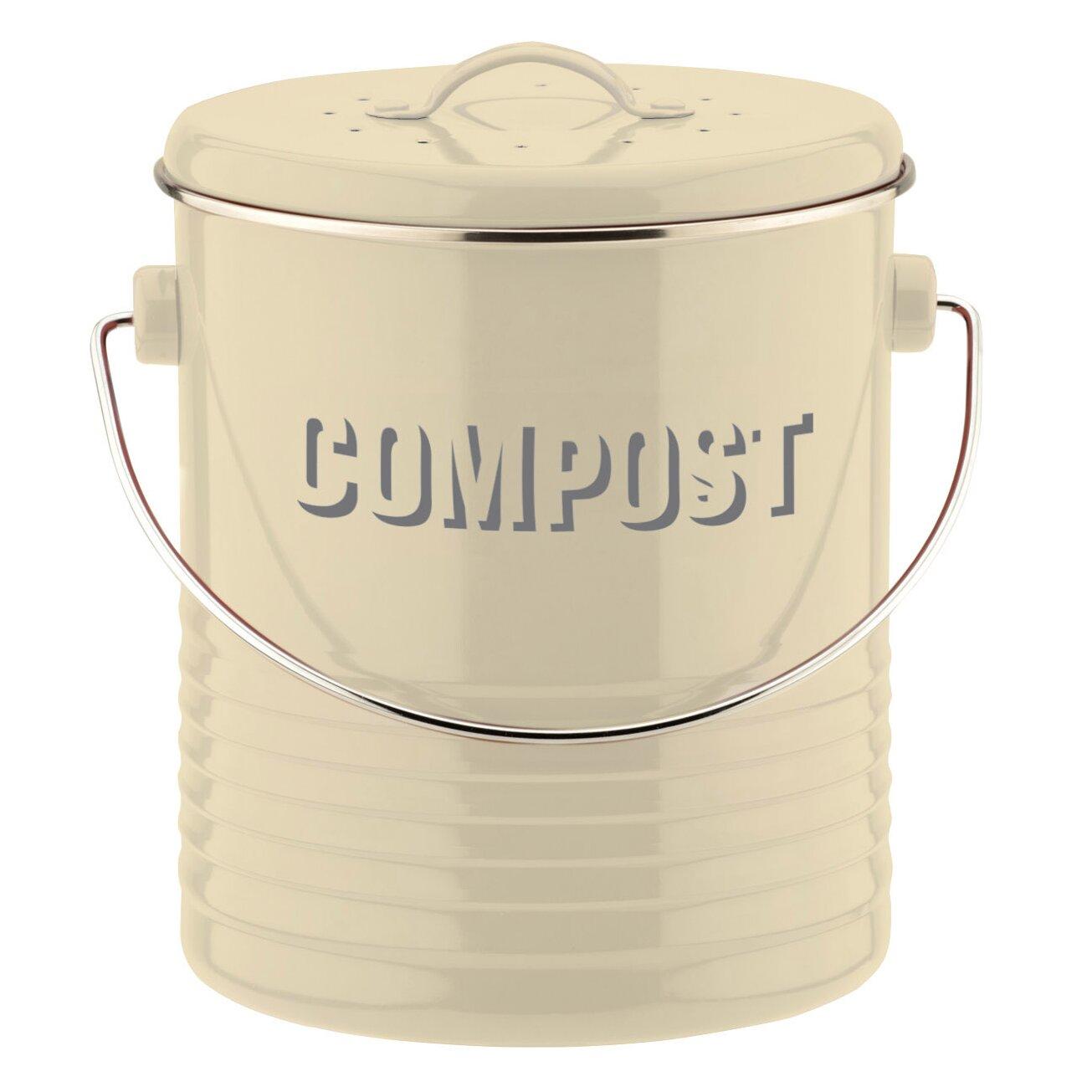 Typhoon kompostbehalter vintage kitchen in creme for Kompostbeh lter küche