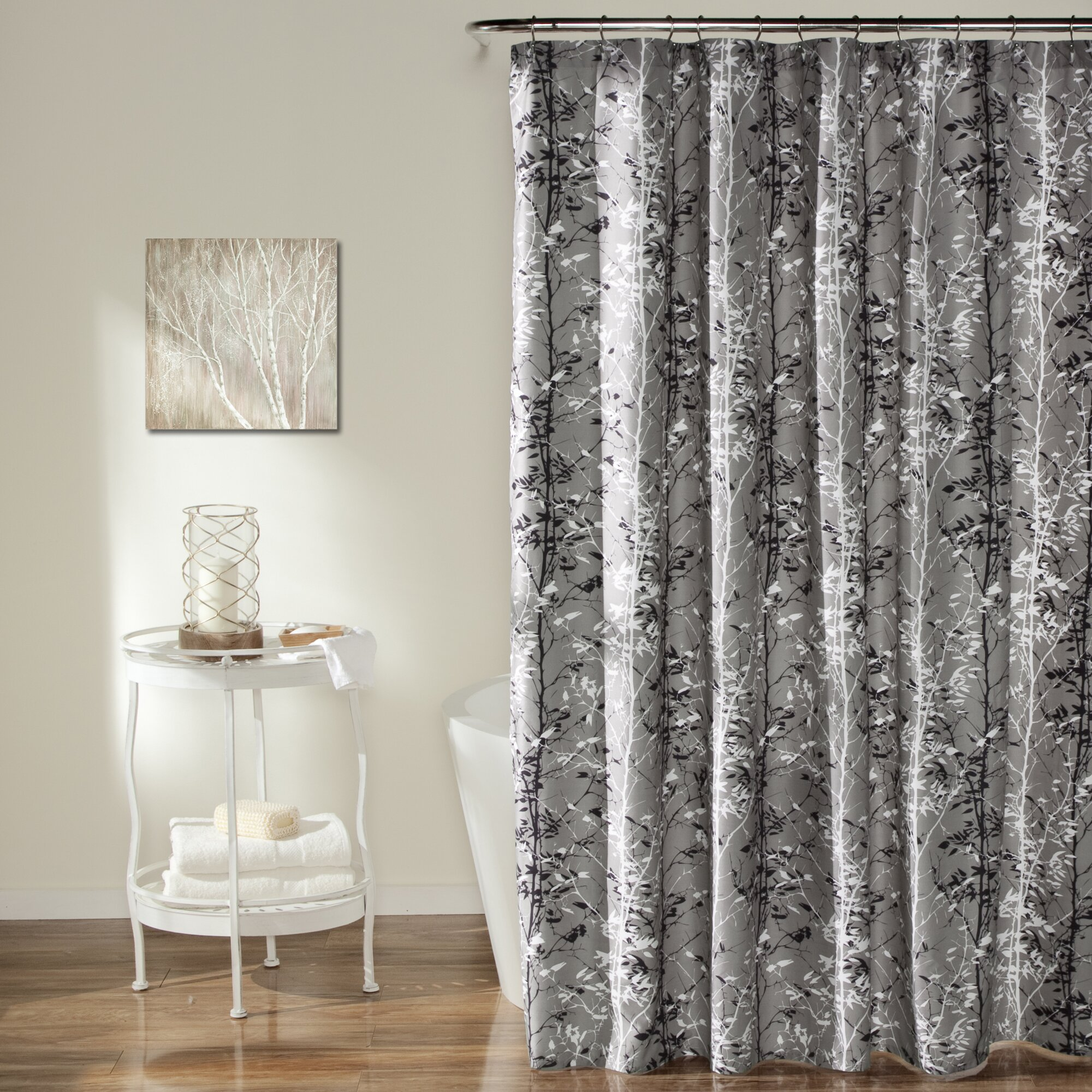 Lush Decor Forest Shower Curtain Amp Reviews