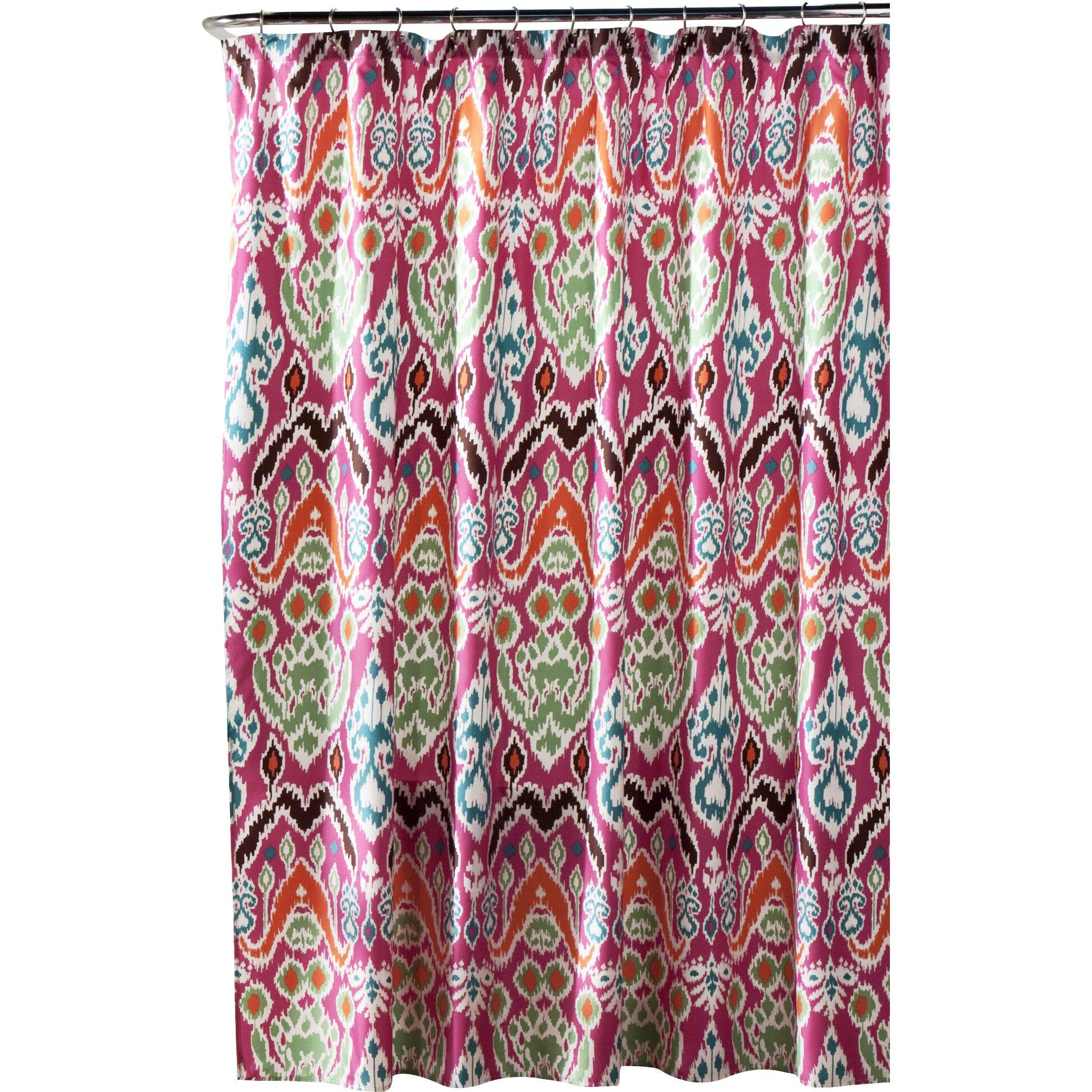 Lush Decor Jaipur Ikat Polyester Shower Curtain Reviews