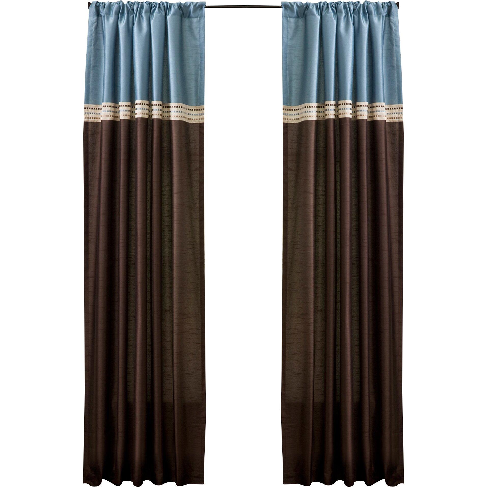 Alcott Hill Lefevre Rod Pocket Blackout Curtain Panels