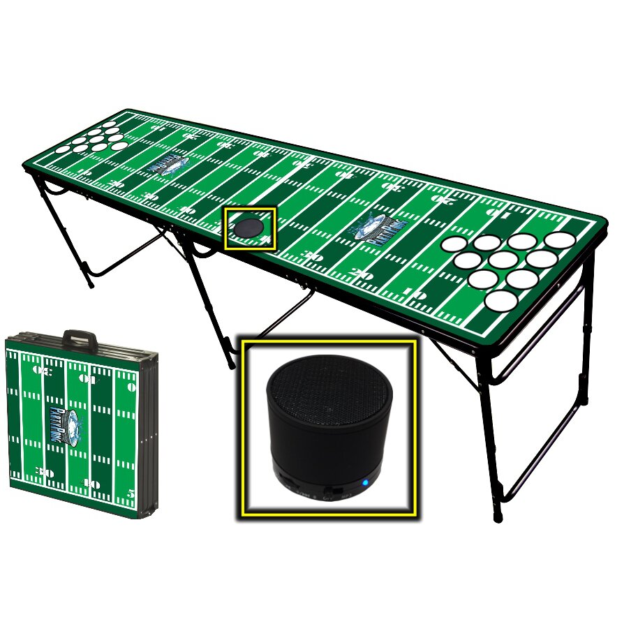 Football Stadium Lights End Table: Party Pong Tables Football Field Folding And Portable Beer